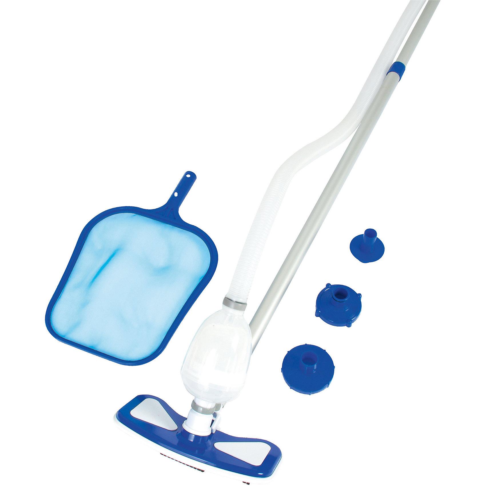 Набор для бассейнов: сачок, щетка для чистки дна и стенок,  Bestway