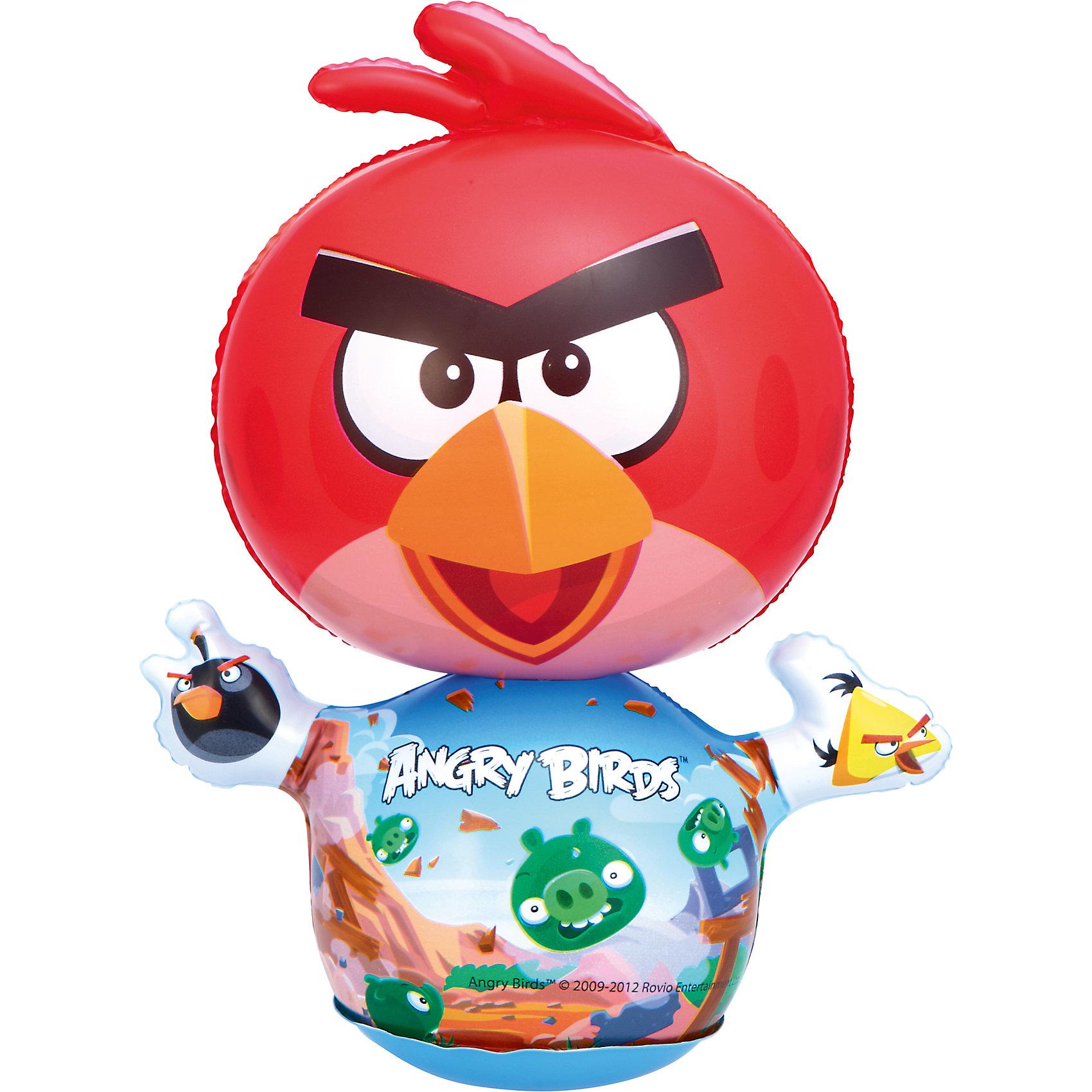 Мини-игрушка для боксирования Angry Birds,  BestwayМини-игрушка для боксирования Angry Birds, Bestway (Бествей) поможет маленькому спортсмену тренироваться в любых условиях и всегда поддерживать себя в хорошей форме. Игрушка выполнена из качественного прочного материла и имеет яркий красочный дизайн в виде забавной красной птички из популярной компьютерной игры  Angry Birds. При ударе птичка вновь принимает вертикальное положение. Легко сдувается и надувается.<br><br>Дополнительная информация:<br><br>- Материал: ПВХ.<br>- Размер игрушки: 24 х 11 х 30 см.<br>- Размер упаковки: 12 х 3 х 17 см.<br>- Вес: 0,284 кг.<br><br>Мини-игрушку для боксирования Angry Birds, Bestway (Бествей) можно купить в нашем интернет-магазине.<br><br>Ширина мм: 120<br>Глубина мм: 30<br>Высота мм: 170<br>Вес г: 284<br>Возраст от месяцев: 12<br>Возраст до месяцев: 36<br>Пол: Мужской<br>Возраст: Детский<br>SKU: 4051686