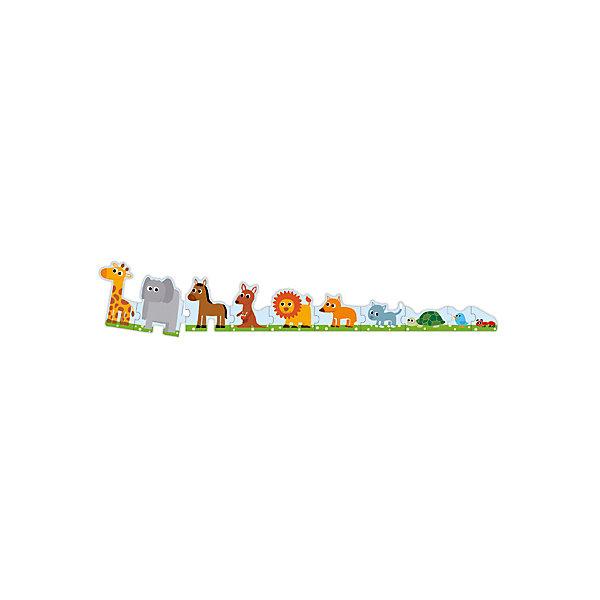 Пазл «Большой – маленький», 10 деталей, DJECOПазлы для малышей<br>Пазл «Большой – маленький» знакомит ребенка с различными животными, а также с понятием больше - меньше. Необходимо собрать пазл от самого маленького муравья до самого высокого жирафа. Пазл «Больше – меньше» - это и увлекательная первая игра и познавательное занятие одновременно. Все детали выполнены из плотного высококачественного картона, имеют размер идеально подходящий для маленьких детских ручек. Игра с пазлом развивает моторику, мышление, цветовосприятие и фантазию малышей.<br><br>Дополнительная информация:<br><br>- Материал: картон.<br>- Размер упаковки: 18х12х6 см.<br><br>Пазл «Большой – маленький», 10 деталей, DJECO (Джеко), можно купить в нашем магазине.<br>Ширина мм: 180; Глубина мм: 120; Высота мм: 60; Вес г: 275; Возраст от месяцев: 36; Возраст до месяцев: 72; Пол: Унисекс; Возраст: Детский; SKU: 4051900;