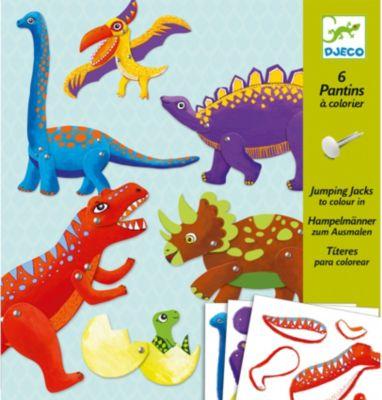 Набор куколок Динозавры , DJECO