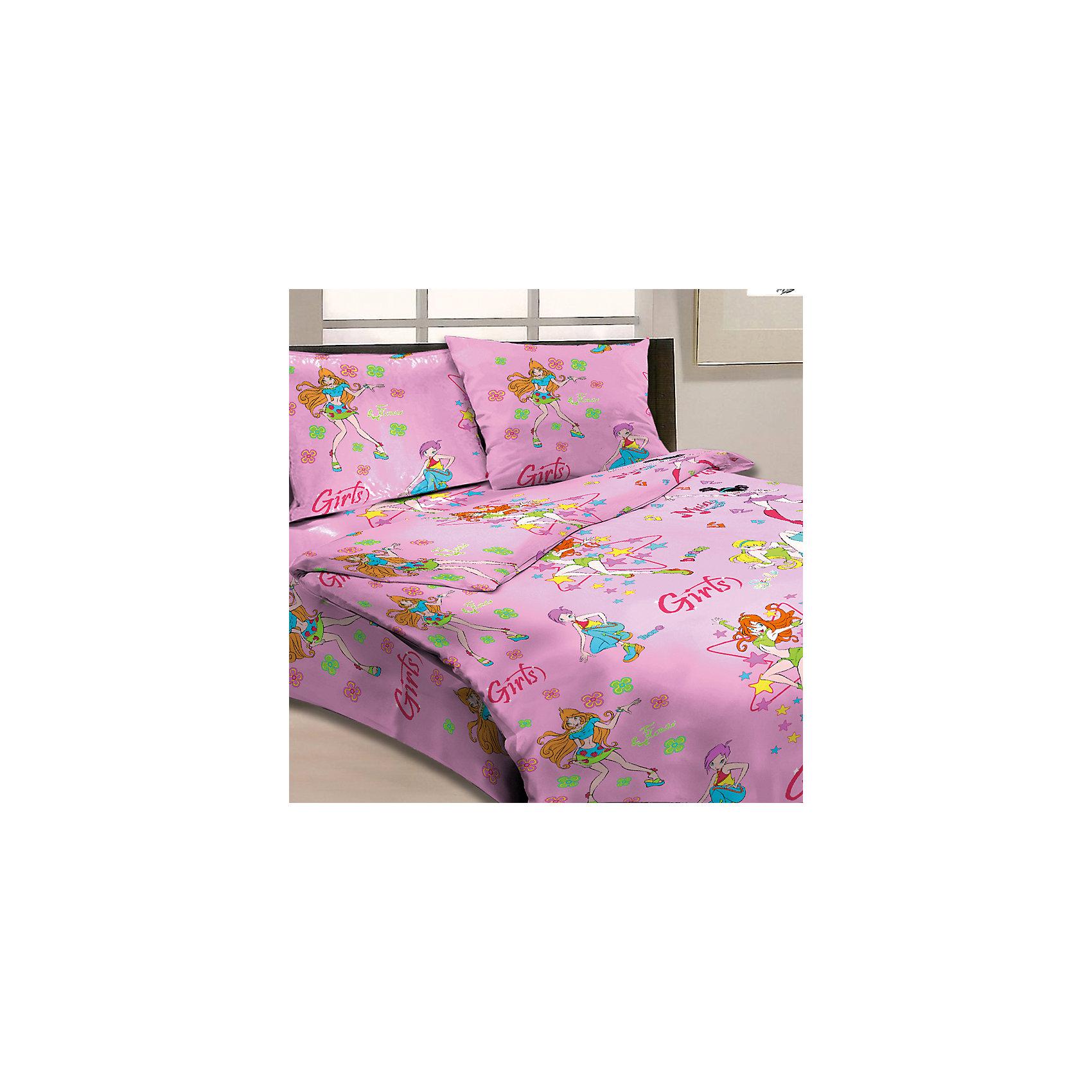 Комплект Подружки 1,5-спальный (наволочка 50х70см), LettoКомплект постельного белья Подружки, Letto, с оригинальным стильным дизайном непременно понравится Вашей девочке. Комплект выполнен в приятных розовых тонах и украшен изображениями веселых подружек-модниц. Материал представляет собой качественную плотную бязь, очень комфортную и приятную на ощупь. Ткань отвечает всем экологическим нормам безопасности, дышащая, гипоаллергенная, не нарушает естественные процессы терморегуляции. При стирке белье не линяет, не деформируется и не теряет своих красок даже после многочисленных стирок. Можно стирать в машинке в деликатном режиме 30-40 градусов.<br><br>Дополнительная информация:<br><br>- Размер комплекта: полутораспальный.<br>- Тип ткани: бязь (100% хлопок).<br>- В комплекте: 1 наволочка, 1 пододеяльник, 1 простыня.<br>- Размер пододеяльника: 143 х 215 см.<br>- Размер наволочки: 50 х 70 см.<br>- Размер простыни: 150 х 220 см.<br>- Размер упаковки: 39 х 4 х 28 см.<br>- Вес: 1,4 кг. <br><br>Комплект Подружки 1,5 спальный, Letto, можно приобрести в нашем интернет-магазине.<br><br>Ширина мм: 390<br>Глубина мм: 280<br>Высота мм: 40<br>Вес г: 1400<br>Возраст от месяцев: 36<br>Возраст до месяцев: 120<br>Пол: Женский<br>Возраст: Детский<br>SKU: 4053114