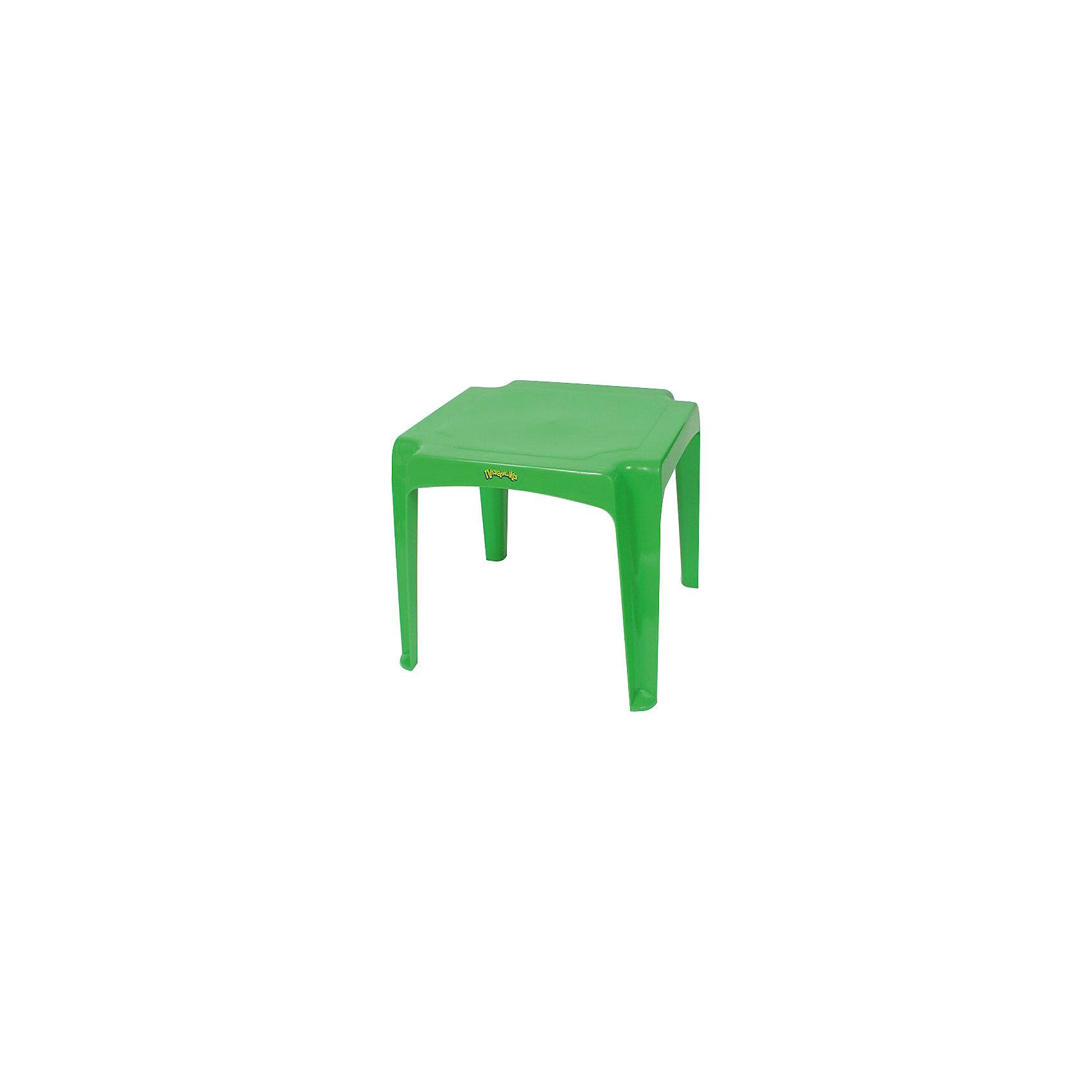 - Салатовый стол 52*52*47,5 см