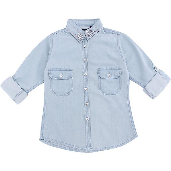 Рубашка для девочки BLUE SEVENБлузки и рубашки<br>Рубашка для девочки от известного бренда Blue Seven. <br>Состав: 100% хлопок<br>Ширина мм: 186; Глубина мм: 87; Высота мм: 198; Вес г: 197; Цвет: синий; Возраст от месяцев: 132; Возраст до месяцев: 144; Пол: Женский; Возраст: Детский; Размер: 152,176,164,140; SKU: 4054606;