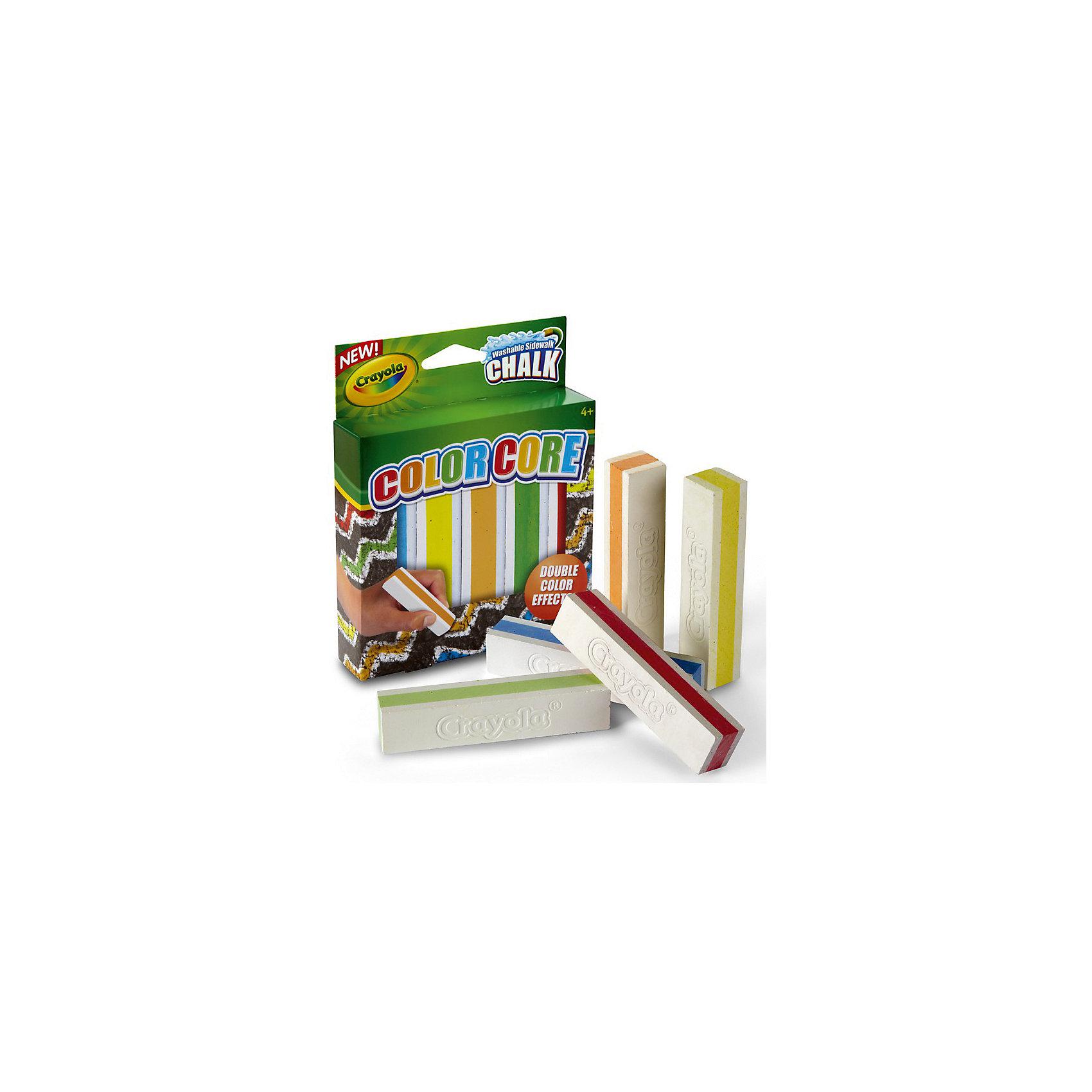 Набор мела для асфальта с цветными стержнями, 5 цв., CrayolaМелки для асфальта<br>Создавай уникальные шедевры прямо на асфальте с новыми восхитительными мелками Crayola (Крайола) с цветным стержнем!  <br><br>Эксклюзивные мелки Crayola (Крайола), несомненно, порадуют вашего ребёнка, ведь качественными мелками так просто сотворить яркий и неповторимый рисунок. В коробке 5 разноцветных прочных мелков высокого качества. Они не расколются и не поломаются при случайном падении или сильном нажиме. <br><br>Создавая новые картины на тротуаре или во дворе, ребёнок развивает креативные навыки и фантазию, стимулирует воображение и тренирует мелкую моторику рук. Оставь во дворе неповторимые яркие линии с помощью превосходных узорчатых мелков Crayola (Крайола)!<br><br>Набор мела для асфальта с цветными стержнями, 5 цв., Crayola (Крайола) можно купить в нашем магазине.<br><br>Ширина мм: 250<br>Глубина мм: 140<br>Высота мм: 100<br>Вес г: 230<br>Возраст от месяцев: 48<br>Возраст до месяцев: 108<br>Пол: Унисекс<br>Возраст: Детский<br>SKU: 4055306
