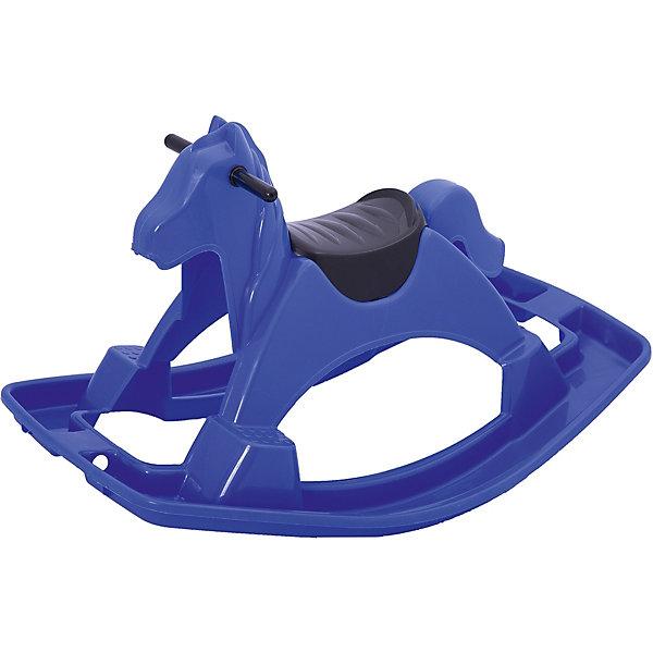 Качалка  Лошадка, синяя, PalPlayКаталки и качалки<br>Симпатичная Качалка - Лошадка от Marianplast (Марианпласт) с ярким дизайном станет приятным сюрпризом для Вашего малыша. Игрушка подходит как для игр на открытом воздухе, так и для помещений.<br><br>Качалка устойчива и безопасна для ребенка, имеет широкое и прочное основание, ребенок может качаться, не боясь перевернуться. На передних копытах имеются две специальные подставки для ножек ребенка с рифлёной поверхностью, чтобы они не соскальзывали. Благодаря небольшим размерам и весу лошадку легко перевозить или переносить с места на место. Игрушка способствует развитию координации и равновесия малыша.<br><br>Дополнительная информация:<br><br>- Материал: гипоаллергенная пластмасса, устойчивая к выцветанию. <br>- Размер лошадки: 90,5 x 58 x 53,5 см.<br>- Вес: 2 кг.<br><br>Качалку - Лошадку от Marianplast (Марианпласт) можно купить в нашем интернет-магазине.<br><br>Ширина мм: 905<br>Глубина мм: 580<br>Высота мм: 535<br>Вес г: 1770<br>Возраст от месяцев: 24<br>Возраст до месяцев: 96<br>Пол: Унисекс<br>Возраст: Детский<br>SKU: 4055316