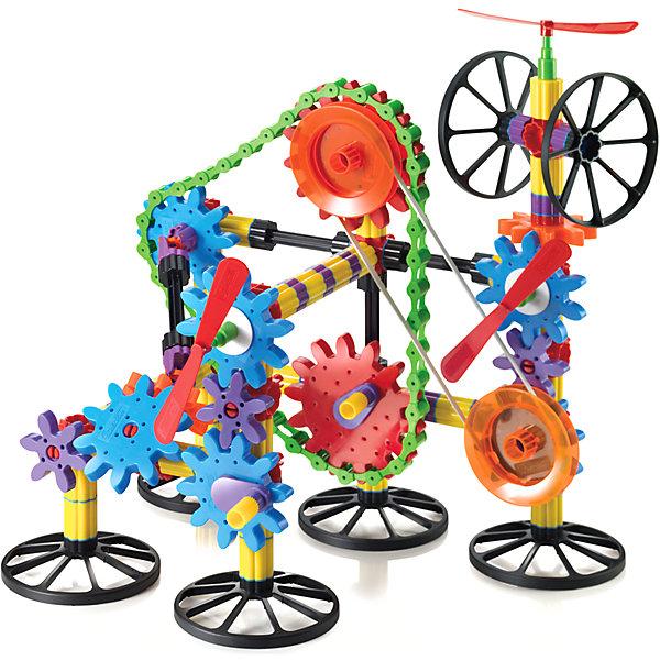 Конструктор Технологии Джиорелло 3D, 266 деталей, QuercettiПластмассовые конструкторы<br>Конструктор Технологии Джиорелло 3D, 266 деталей, Quercetti (Кверсетти) – это пропуск в мир неограниченного детского творчества!<br>Конструктор Технологии Джиорелло 3D непременно порадует вашего малыша. Он содержит 266 элементов разного размера и формы. Соедините элементы так, как подскажет вам фантазия, закрепите рукоятку на большой шестеренке, и вы сможете привести в движение всю конструкцию! Набор также включает в себя иллюстрированный альбом-инструкцию с примерами различных конструкций и способами соединения элементов. Конструктор Технологии Джиорелло 3D предоставит вашему чаду великолепную возможность делать интересные наблюдения, эксперименты и открытия в мире физики (скорость, сила тяжести, ускорение и т.д.), а также интуитивно понять основы законов физики. Игры с конструкторами помогут ребенку развить воображение, внимательность, пространственное мышление и творческие способности. Ваш малыш сможет часами играть с ним, создавая оригинальные объемные конструкции. Все элементы конструктора выполнены из прочного безопасного пластика и имеют увеличенные размеры, специально для маленьких пальчиков малыша.<br><br>Дополнительная информация:<br><br>- В наборе: 8 элементов основы черного цвета, 2 большие шестеренки, 7 средних шестеренок, 5 малых шестеренок, сборную цепь из 46 элементов, 70 прямых элементов колонн, 6 универсальных шарниров, 80 соединений, 18 красных соединений, 4 поворотных соединения, 2 ролика натяжения, 3 колеса, 2 пропеллера, 2 рукоятки, и другие элементы и крепления, 1 цветной буклет<br>- Количество элементов: 266<br>- Размер большей шестеренки: 115 х 115 мм.<br>- Размер средней шестеренки: 85 х 85 мм.<br>- Размер малой шестеренки: 60 х 60 мм.<br>- Материал: пластик<br>- Размер упаковки: 400x340x90 мм.<br><br>Конструктор Технологии Джиорелло 3D, 266 деталей, Quercetti (Кверсетти) можно купить в нашем интернет-магазине.<br>Ширина мм: 400; Глубина мм: 340; Высота