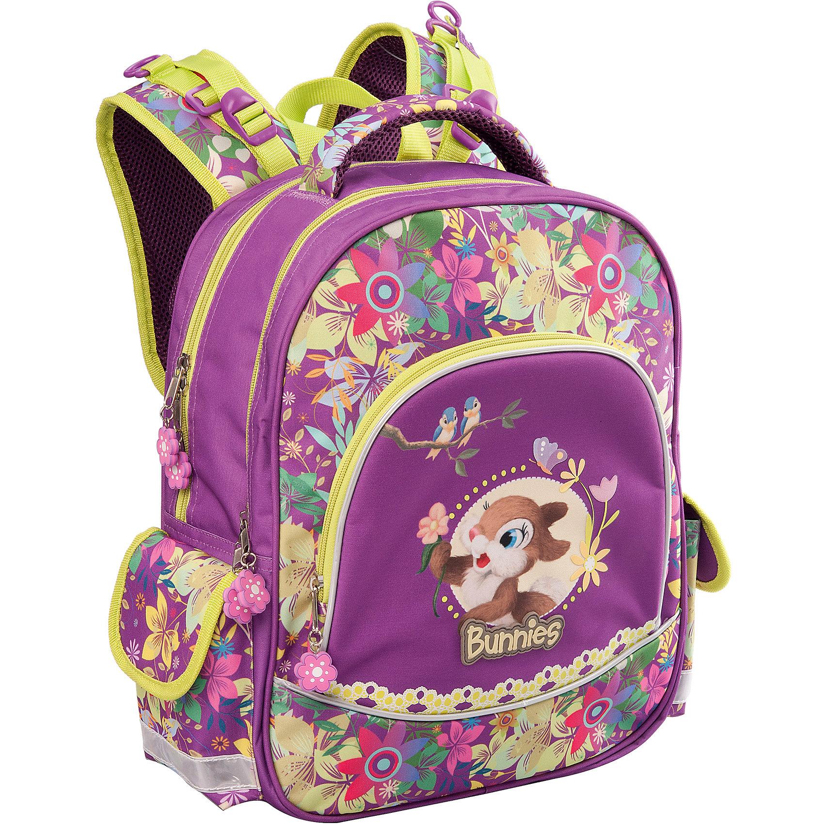 ErichKrause Школьный рюкзак Bunnies рюкзак детский erichkrause erichkrause школьный рюкзак city explorer