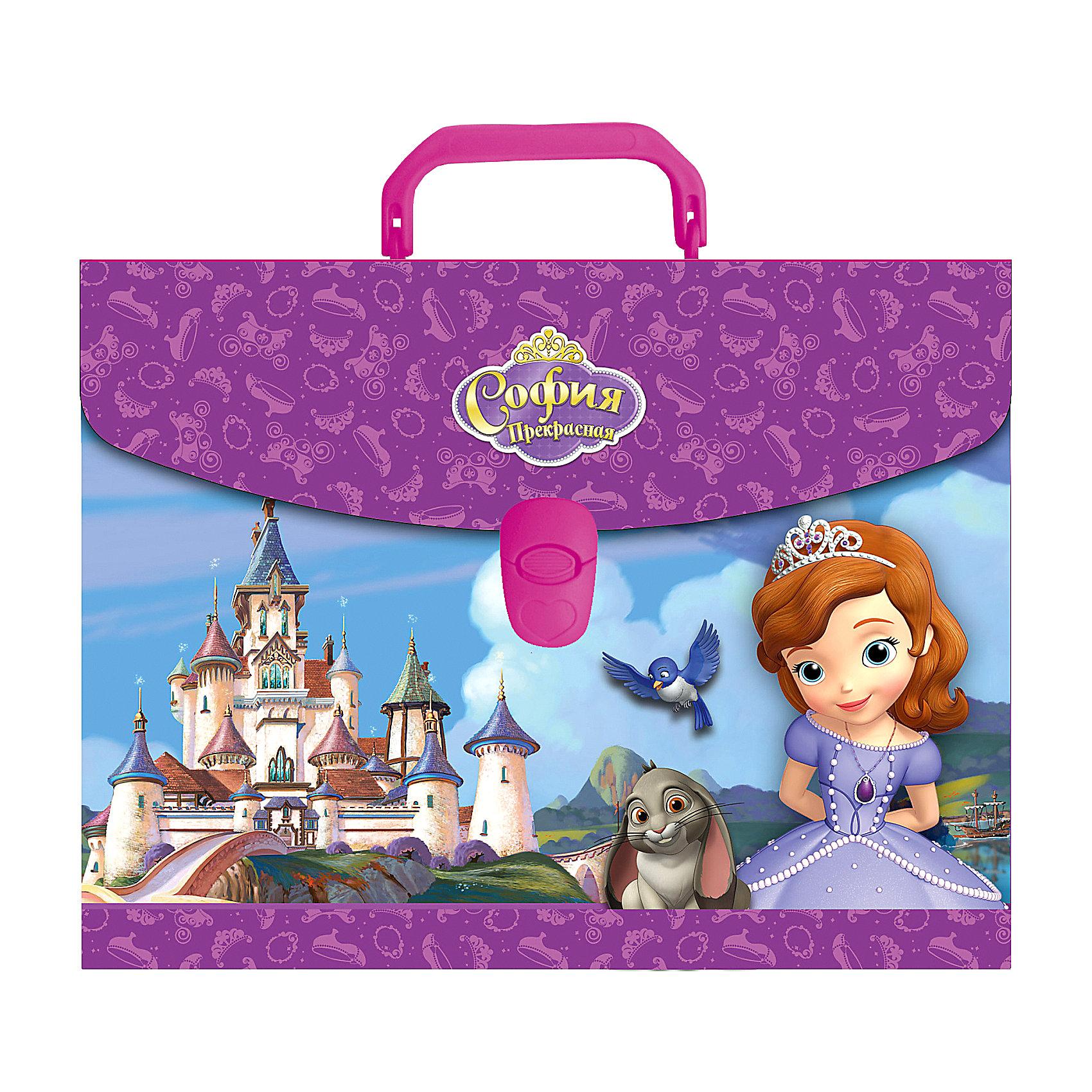 Пластиковый портфель Принцесса София
