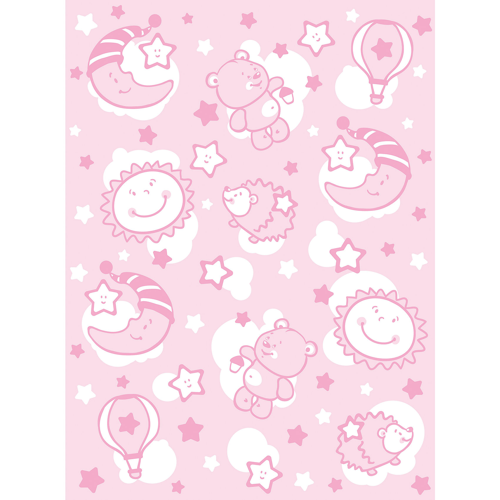 Одеяло байковое Звёздная ночь, 85х115, Baby Nice, розовыйМягкое байковое одеяло Звездная ночь подарит малышам крепкий, комфортный и здоровый сон. Одеяло выполнено из натурального хлопка, прекрасно пропускает воздух, сохраняя при этом тепло, что обеспечивает поддержание комфортного микроклимата как дома, так и на прогулке. Абсолютно гипоаллергенное, идеально подходит для новорожденных детей. <br><br>Дополнительная информация:<br><br>- Материал: хлопок 100%, жаккард.<br>- Размер: 115х85 см. <br>- Отделка: оверлок.<br>- Цвет: розовый.<br>- Декоративные элементы: принт.<br>- Одностороннее.  <br>- Стирка: машинная при 40 ?. <br><br>Одеяло байковое Звёздная ночь, 85х115, Baby Nice (Беби Найс), розовое, можно купить в нашем магазине.<br><br>Ширина мм: 40<br>Глубина мм: 5<br>Высота мм: 30<br>Вес г: 500<br>Возраст от месяцев: 0<br>Возраст до месяцев: 60<br>Пол: Женский<br>Возраст: Детский<br>SKU: 4058251