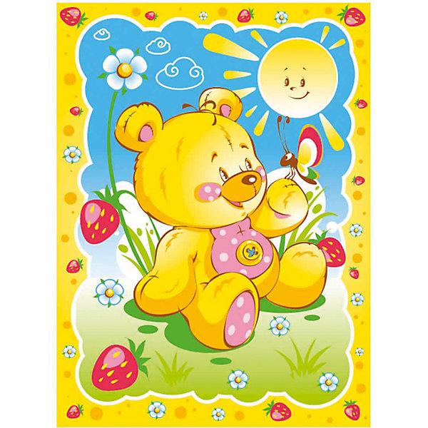 Одеяло байковой Солнечный Мишка 85х115, Baby Nice