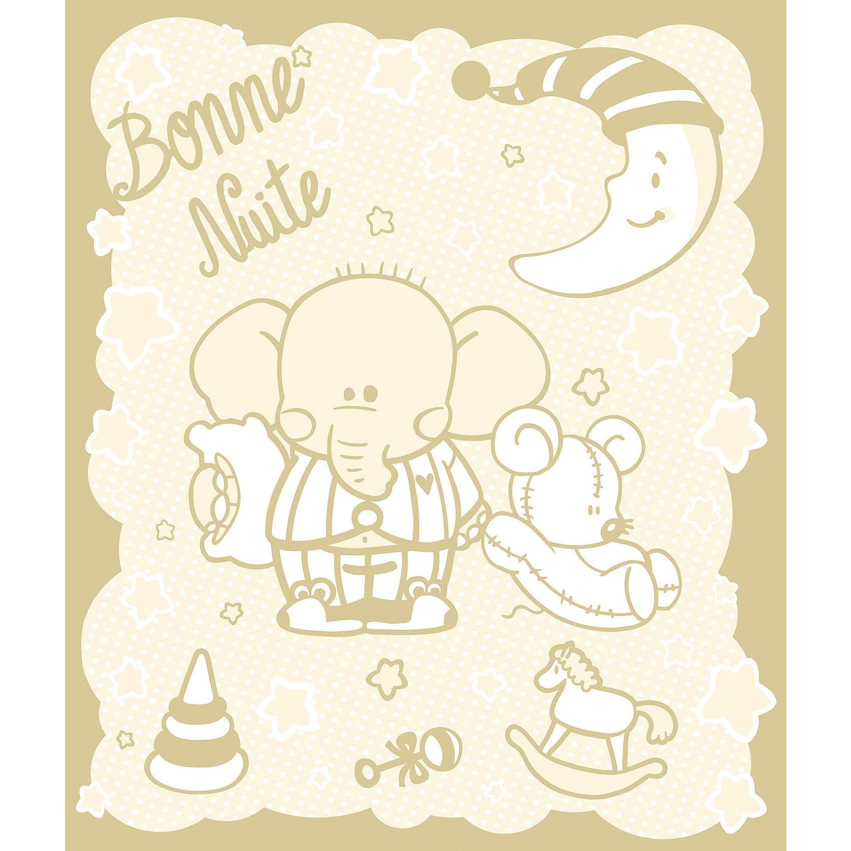 Одеяло байковое Слоник 100х118, Baby Nice, бежевыйОдеяла, пледы<br>Мягкое байковое одеяло Слоник подарит малышам крепкий, комфортный и здоровый сон. Одеяло выполнено из натурального хлопка, прекрасно пропускает воздух, сохраняя при этом тепло, что обеспечивает поддержание комфортного микроклимата как дома, так и на прогулке. Абсолютно гипоаллергенное, идеально подходит для новорожденных детей. <br><br>Дополнительная информация:<br><br>- Материал: хлопок 100%, жаккард.<br>- Размер: 100х118 см. <br>- Отделка: оверлок.<br>- Цвет: бежевый.<br>- Декоративные элементы: принт (слоник).<br>- Стирка: машинная при 40 ?. <br><br>Одеяло байковое Слоник 100х118, Baby Nice,(Беби Найс), бежевое, можно купить в нашем магазине.<br><br>Ширина мм: 40<br>Глубина мм: 5<br>Высота мм: 30<br>Вес г: 500<br>Возраст от месяцев: 0<br>Возраст до месяцев: 60<br>Пол: Унисекс<br>Возраст: Детский<br>SKU: 4058261
