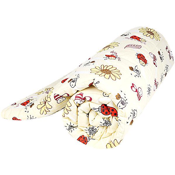 Одеяло стеганное Божья коровка, файбер 300, 105х140 , Baby Nice, желтыйОдеяла в кроватку новорождённого<br>Мягкое стеганое одеяло подарит малышам комфортный сон и уют. Высококачественный гипоаллергенный наполнитель прекрасно сохраняет тепло, пропуская при этом воздух, что создает комфортный микроклимат и идеальные условия для полноценного отдыха.<br><br>Дополнительная информация:<br><br>- Размер: 105х140 см.<br>- Материал верха: хлопок.<br>- Наполнитель: файбер, 300 гр.<br>- Цвет: жёлтый.<br>- Декоративные элементы: принт.<br><br>Одеяло стеганое Божья коровка, файбер 300, 110х140, Baby Nice (Беби Найс), желтое, можно купить в нашем магазине.<br><br>Ширина мм: 50<br>Глубина мм: 10<br>Высота мм: 40<br>Вес г: 900<br>Возраст от месяцев: 0<br>Возраст до месяцев: 60<br>Пол: Унисекс<br>Возраст: Детский<br>SKU: 4058267
