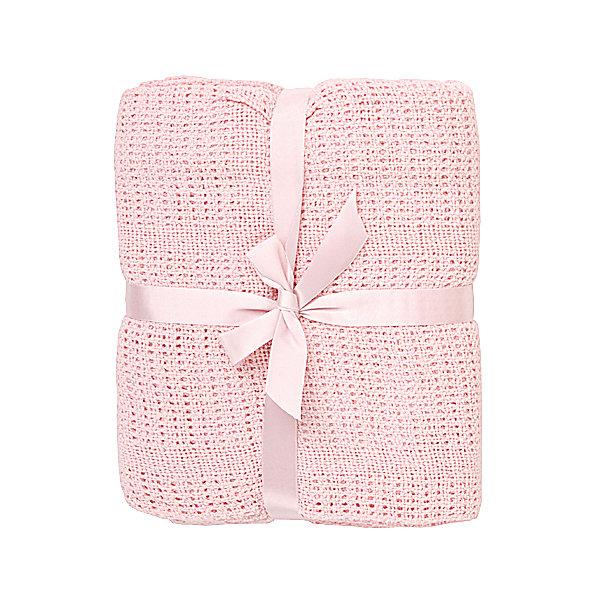 Одеяло детское вязанное 90х120 Baby Nice, розовыйПледы для новорождённых<br>Мягкое вязаное одеяло можно использовать дома или же на улице. Изготовлено из натурального хлопка, прекрасно пропускает воздух и сохраняет тепло, гипоаллергенно. Одеяло имеет нежную расцветку и очень приятно наощупь - идеальный вариант для малышей с самого рождения! <br><br>Дополнительная информация:<br><br>- Материал: хлопок 100%.<br>- Размер: 90х120 см.<br>- Цвет: розовый.<br><br>Одеяло детское вязаное 90х120 Baby Nice (Беби Найс), розовое, можно купить в нашем магазине.<br><br>Ширина мм: 20<br>Глубина мм: 5<br>Высота мм: 20<br>Вес г: 400<br>Возраст от месяцев: 0<br>Возраст до месяцев: 60<br>Пол: Женский<br>Возраст: Детский<br>SKU: 4058276