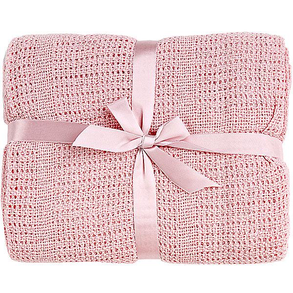 Одеяло детское вязанное 100х140 Baby Nice, розовыйПледы для новорождённых<br>Мягкое вязаное одеяло можно использовать дома или же на улице. Изготовлено из натурального хлопка, прекрасно пропускает воздух и сохраняет тепло, гипоаллергенно. Одеяло имеет нежную расцветку и очень приятно наощупь - идеальный вариант для малышей с самого рождения! <br><br>Дополнительная информация:<br><br>- Материал: хлопок 100%.<br>- Размер: 100х140 см.<br>- Цвет: розовый.<br><br>Одеяло детское вязаное 100х140 Baby Nice (Беби Найс), розовое, можно купить в нашем магазине.<br><br>Ширина мм: 20<br>Глубина мм: 5<br>Высота мм: 20<br>Вес г: 400<br>Возраст от месяцев: 0<br>Возраст до месяцев: 60<br>Пол: Женский<br>Возраст: Детский<br>SKU: 4058279