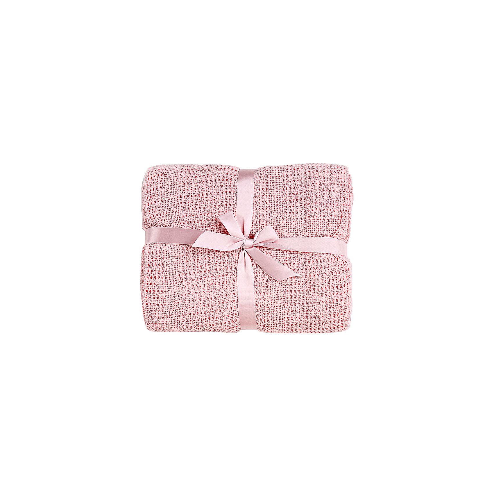 Одеяло детское вязанное 100х140 Baby Nice, розовыйОдеяла, пледы<br>Мягкое вязаное одеяло можно использовать дома или же на улице. Изготовлено из натурального хлопка, прекрасно пропускает воздух и сохраняет тепло, гипоаллергенно. Одеяло имеет нежную расцветку и очень приятно наощупь - идеальный вариант для малышей с самого рождения! <br><br>Дополнительная информация:<br><br>- Материал: хлопок 100%.<br>- Размер: 100х140 см.<br>- Цвет: розовый.<br><br>Одеяло детское вязаное 100х140 Baby Nice (Беби Найс), розовое, можно купить в нашем магазине.<br><br>Ширина мм: 20<br>Глубина мм: 5<br>Высота мм: 20<br>Вес г: 400<br>Возраст от месяцев: 0<br>Возраст до месяцев: 60<br>Пол: Женский<br>Возраст: Детский<br>SKU: 4058279
