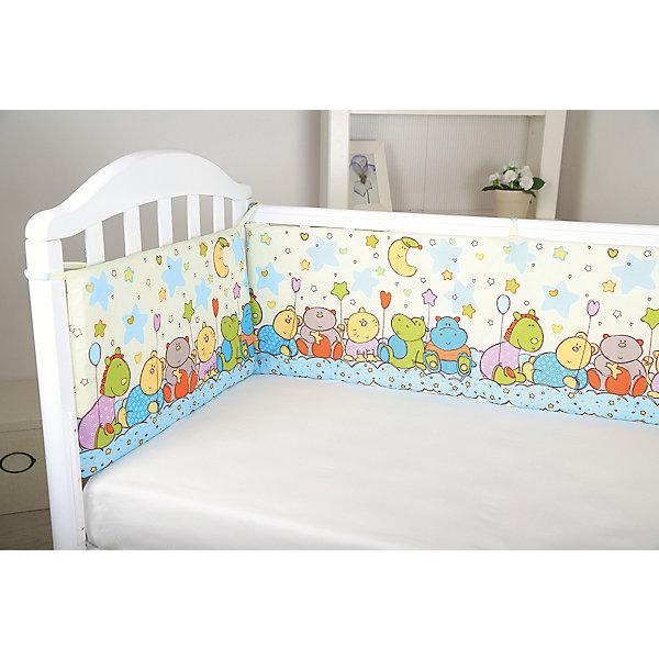 Борт в кроватку Звездопад, Baby Nice, желтыйБортики в кроватку для новорожденных<br>Мягкий борт в кроватку с нежным принтом и спокойной приятной расцветкой подарит крохе комфорт и безопасность. Борт - раздельный, выполнен из высококачественных гипоаллергенных материалов, сохраняющих цвет и свойства после стирки. <br><br><br>Дополнительная информация:<br><br>- Материал верха:  бязь (хлопок 100%).<br>- Наполнитель: периотек (полиэфирное волокно).<br>- Размер каждого бортика: 120х35-2 шт., 60х35-2 шт<br>- 4 бортика в комплекте.<br>- Цвет: желтый.<br><br>Борт в кроватку Звездопад, Baby Nice (Беби Найс), желтый, можно купить в нашем магазине.<br>Ширина мм: 600; Глубина мм: 350; Высота мм: 50; Вес г: 600; Возраст от месяцев: 0; Возраст до месяцев: 60; Пол: Унисекс; Возраст: Детский; SKU: 4058280;