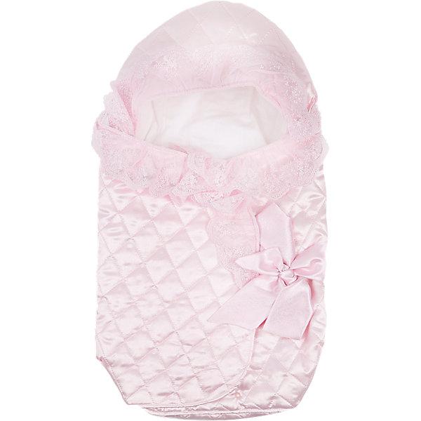 Конверт на выписку 70х42 Baby Nice, розовыйДетские конверты<br>Нежный конверт на выписку выполнен из высококачественных гипоаллергенных материалов, прекрасно сохраняет тепло и пропускает воздух, создавая комфортный микроклимат в любую погоду. Практичный конверт гарантирует  уют и удобство для мам и малышей. Идеальный вариант для новорожденных. <br><br>Дополнительная информация:<br><br>- Материал верха: тисненный шелк (термостежка).<br>- Наполнитель: файберпласт (200 гр.)<br>- Материал подкладки: сатин (100% хлопок).<br>- Размер: 70х42 см.<br>- Цвет: розовый.<br>- Принт: рюши.<br><br>Конверт на выписку 70х42 Baby Nice (Беби Найс), розовый, можно купить в нашем магазине.<br><br>Ширина мм: 50<br>Глубина мм: 5<br>Высота мм: 90<br>Вес г: 500<br>Возраст от месяцев: 0<br>Возраст до месяцев: 60<br>Пол: Женский<br>Возраст: Детский<br>SKU: 4058286