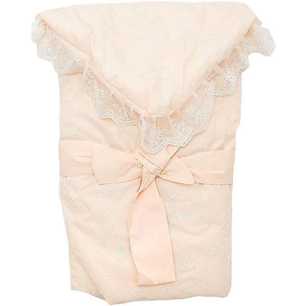 Конверт-одеяло на выписку Baby Nice, бежевыйДетские конверты<br>Конверт-одеяло на выписку выполнен из высококачественных гипоаллергенных материалов, прекрасно сохраняет тепло и пропускает воздух, создавая комфортный микроклимат в любую погоду. Практичный конверт гарантирует  уют и удобство для мам и малышей. Идеальный вариант для новорожденных. <br><br>Дополнительная информация:<br><br>- Материал верха: сатин ( хлопок 100%).<br>- Наполнитель: файберпласт (200 гр.)<br>- Материал подкладки: сатин (100% хлопок).<br>- Декоративная резинкой-фиксатор.<br>- Размер: 84х86 см.<br>- Цвет: бежевый.<br>- Декоративные элементы: кружево.<br><br>Конверт-одеяло на выписку Baby Nice (Беби Найс), бежевый, можно купить в нашем магазине.<br><br>Ширина мм: 50<br>Глубина мм: 5<br>Высота мм: 90<br>Вес г: 500<br>Возраст от месяцев: 0<br>Возраст до месяцев: 60<br>Пол: Унисекс<br>Возраст: Детский<br>SKU: 4058293