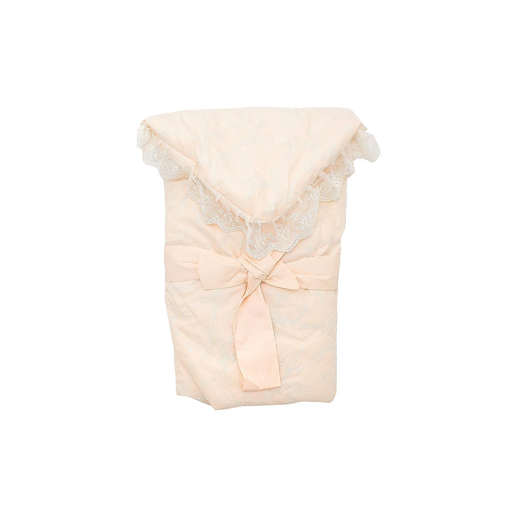 Конверт-одеяло на выписку Baby Nice, бежевыйКонверт-одеяло на выписку выполнен из высококачественных гипоаллергенных материалов, прекрасно сохраняет тепло и пропускает воздух, создавая комфортный микроклимат в любую погоду. Практичный конверт гарантирует  уют и удобство для мам и малышей. Идеальный вариант для новорожденных. <br><br>Дополнительная информация:<br><br>- Материал верха: сатин ( хлопок 100%).<br>- Наполнитель: файберпласт (200 гр.)<br>- Материал подкладки: сатин (100% хлопок).<br>- Декоративная резинкой-фиксатор.<br>- Размер: 84х86 см.<br>- Цвет: бежевый.<br>- Декоративные элементы: кружево.<br><br>Конверт-одеяло на выписку Baby Nice (Беби Найс), бежевый, можно купить в нашем магазине.<br><br>Ширина мм: 50<br>Глубина мм: 5<br>Высота мм: 90<br>Вес г: 500<br>Возраст от месяцев: 0<br>Возраст до месяцев: 60<br>Пол: Унисекс<br>Возраст: Детский<br>SKU: 4058293