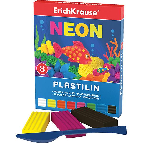 Пластилин Neon (8 цветов, 144г + стек), ArtberryРисование и лепка<br>Пластилин Neon (Неон) (8 цветов, 144г + стек), Artberry (Артберри) невероятно мягкий и пластичный, поэтому из брусочков отлично получаются как плоские (так называемая техника рисования пластилином на поверхности), так и объемные фигурки. Набор пластилина отличается яркой и насыщенной палитрой, при этом цвета легко смешиваются между собой для получения новых оттенков. Позвольте вашему ребенку воплощать свои фантазии в лепке, развивая при этом воображение и мелкую моторику.<br><br>Характеристики:<br>-Сохраняет форму, не застывает на воздухе<br>-Произведен на основе натуральных растительных компонентов<br>-Не липнет к рукам или рабочей поверхности, не оставляет жирных пятен<br>-Лепка пластилином способствует развитию мелкой моторики, целеустремленности, терпения, творческих способностей<br><br>Комплектация: пластилин 8 цветов по 18 г, стек (пластиковый нож)<br><br>Дополнительная информация:<br>-Вес в упаковке: 175 г<br>-Размеры в упаковке: 151х119х10 мм<br>-Материалы: пластилин, пластик<br><br>Набор пластилина из 8 цветов является отличным подарком, который доставит настоящую радость детям и откроет новые возможности для развития творческих способностей Вашего ребенка.<br><br>Пластилин Neon (Неон) (8 цветов, 144г + стек), Artberry (Артберри) можно купить в нашем магазине.<br>Ширина мм: 151; Глубина мм: 119; Высота мм: 10; Вес г: 175; Возраст от месяцев: 36; Возраст до месяцев: 144; Пол: Унисекс; Возраст: Детский; SKU: 4058296;