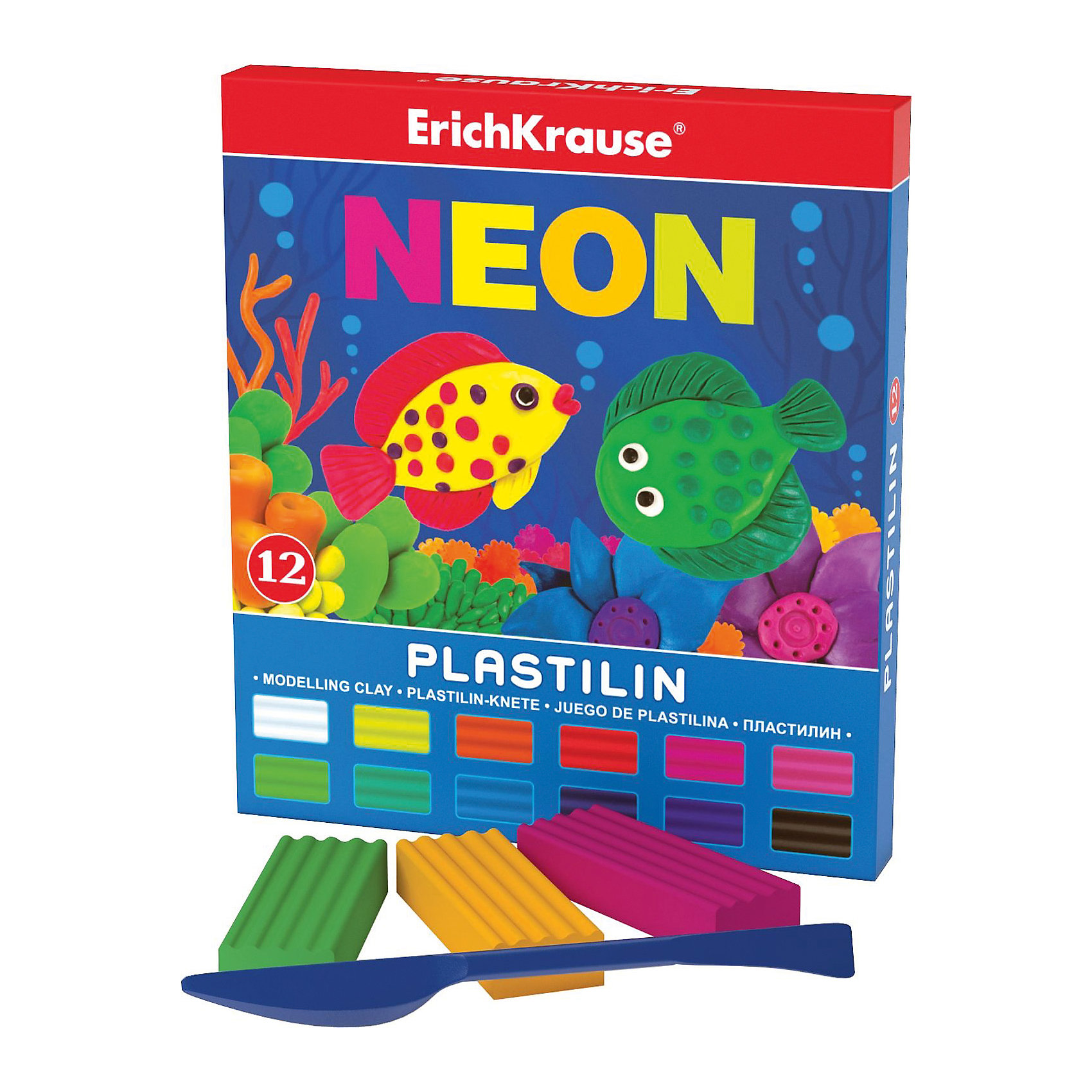 Пластилин Neon (12 цветов, 216г + стек), ArtberryПластилин Neon (Неон) (12 цветов, 216г + стек), Artberry (Артберри) невероятно мягкий и пластичный, поэтому из брусочков отлично получаются как плоские (так называемая техника рисования пластилином на поверхности), так и объемные фигурки. Набор пластилина отличается яркой и насыщенной палитрой, при этом цвета легко смешиваются между собой для получения новых оттенков. Позвольте вашему ребенку воплощать свои фантазии в лепке, развивая при этом воображение и мелкую моторику.<br><br>Характеристики:<br>-Сохраняет форму, не застывает на воздухе<br>-Произведен на основе натуральных растительных компонентов<br>-Не липнет к рукам или рабочей поверхности, не оставляет жирных пятен<br>-Лепка пластилином способствует развитию мелкой моторики, целеустремленности, терпения, творческих способностей<br><br>Комплектация: пластилин 12 цветов по 18 г, стек (пластиковый нож)<br><br>Дополнительная информация:<br>-Вес в упаковке: 258 г<br>-Размеры в упаковке: 149х170х10 мм<br>-Материалы: пластилин, пластик<br><br>Набор пластилина из 12 цветов является отличным подарком, который доставит настоящую радость детям и откроет новые возможности для развития творческих способностей Вашего ребенка.<br><br>Пластилин Neon (Неон) (12 цветов, 216г + стек), Artberry (Артберри) можно купить в нашем магазине.<br><br>Ширина мм: 149<br>Глубина мм: 170<br>Высота мм: 10<br>Вес г: 258<br>Возраст от месяцев: 36<br>Возраст до месяцев: 144<br>Пол: Унисекс<br>Возраст: Детский<br>SKU: 4058297