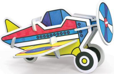 Erich Krause 3D Раскраска Самолет , Artberry