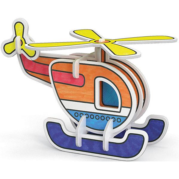 3D Раскраска Вертолет, ArtberryНаборы для раскрашивания<br>С помощью набора 3D Раскраска Вертолет, Artberry (Артберри) Вашему ребенку предстоит собрать и разукрасить вертолет, создав оригинальную самодельную игрушку. Сборка модели вертолета не потребует клея и ножниц. Творческий процесс развивает усидчивость, моторику пальцев, терпение, трудолюбие и творческие способности.<br><br>Комплектация: 6 разноцветных фломастеров, 2 карты с фигурами для сборки<br><br>Дополнительная информация:<br>-Вес в упаковке: 243 г<br>-Размеры в упаковке: 300х230х25 мм<br>-Материалы: картон, пластмасса, чернила<br><br>Такой творческий набор станет отличным подарком, который доставит настоящую радость детям и откроет новые возможности для развития творческих способностей Вашего ребенка!<br><br>3D Раскраска Вертолет, Artberry (Артберри) можно купить в нашем магазине.<br><br>Ширина мм: 300<br>Глубина мм: 230<br>Высота мм: 25<br>Вес г: 243<br>Возраст от месяцев: 36<br>Возраст до месяцев: 144<br>Пол: Унисекс<br>Возраст: Детский<br>SKU: 4058310