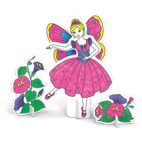 3D Раскраска Фея танца, ArtberryКартонные модели<br>С помощью набора 3D Раскраска Фея танца, Artberry (Артберри) Вашей девочке предстоит собрать и разукрасить фигурку танцующей феи с крыльями в пышном платье, создав оригинальный аксессуар. Сборка объемной модели феи не потребует клея и ножниц. Творческий процесс развивает усидчивость, моторику пальцев, терпение, трудолюбие и творческие способности.<br><br>Комплектация: 6 разноцветных фломастеров, 2 карты с фигурами для сборки<br><br>Дополнительная информация:<br>-Вес в упаковке: 243 г<br>-Размеры в упаковке: 300х230х25 мм<br>-Материалы: картон, пластмасса, чернила<br><br>Такой творческий набор станет отличным подарком, который доставит настоящую радость детям и откроет новые возможности для развития творческих способностей Вашего ребенка!<br><br>3D Раскраска Фея танца, Artberry (Артберри) можно купить в нашем магазине.<br><br>Ширина мм: 300<br>Глубина мм: 230<br>Высота мм: 25<br>Вес г: 243<br>Возраст от месяцев: 36<br>Возраст до месяцев: 144<br>Пол: Унисекс<br>Возраст: Детский<br>SKU: 4058311