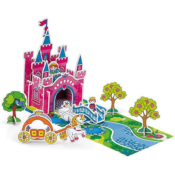 3D Раскраска Загадка королевства Принцессы, ArtberryНаборы для раскрашивания<br>3D Раскраска Загадка королевства Принцессы, Artberry (Артберри) создана специально для девочек, которые любят творчество. Он представляет собой набор карт-шаблонов с объемными деталями замка, принцессы и аксессуарами, которые необходимо раскрасить фломастерами и собрать по инструкции на игровом поле, а затем придумывать увлекательные истории про принцессу и принца.<br><br>Комплектация: 10 разноцветных фломастеров, 6 карт-шаблонов с фигурками животных и аксессуарами замка <br><br>Дополнительная информация:<br>-Вес в упаковке: 581 г<br>-Размеры в упаковке: 335х230х44 мм<br>-Материалы: картон, пластик, чернила<br><br>Такой творческий набор станет отличным подарком, который доставит настоящую радость детям и откроет новые возможности для развития творческих способностей Вашего ребенка!<br><br>3D Раскраска Загадка королевства Принцессы, Artberry (Артберри) можно купить в нашем магазине.<br><br>Ширина мм: 335<br>Глубина мм: 230<br>Высота мм: 44<br>Вес г: 581<br>Возраст от месяцев: 36<br>Возраст до месяцев: 144<br>Пол: Унисекс<br>Возраст: Детский<br>SKU: 4058313
