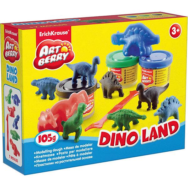 Набор для лепки Остров динозавров (10 предметов)Наборы для лепки игровые<br>Набор для лепки Остров динозавров (10 предметов) включает в себя 3 баночки пластилина (синий, черный, зеленый), 6 форм для лепки и удобный стек – все это поможет ребенку вылепить собственный парк динозавров. Разнообразие формочек позволит создать различные виды динозавров, как травоядных, так и хищников.<br><br>Характеристики:<br>-Сохраняет форму, не застывает на воздухе<br>-Произведен на основе натуральных растительных компонентов<br>-Не липнет к рукам или рабочей поверхности, не оставляет жирных пятен<br>-Лепка пластилином способствует развитию мелкой моторики, целеустремленности, терпения, творческих способностей<br><br>Комплектация: 3 баночки с разноцветным пластилином, 6 формочек, стек<br><br>Дополнительная информация:<br>-Вес в упаковке: 224 г<br>-Размеры в упаковке: 147х44х38 мм<br>-Длина стека: 14 см<br>-Масса брусочка пластилина: 35 г<br>-Материалы: пластилин, пластик<br><br>Набор для лепки динозавров является отличным подарком для детей, которые увлечены динозаврами, и откроет новые возможности для развития творческих способностей Вашего ребенка.<br><br>Набор для лепки Остров динозавров (10 предметов) можно купить в нашем магазине.<br>Ширина мм: 147; Глубина мм: 44; Высота мм: 38; Вес г: 224; Возраст от месяцев: 36; Возраст до месяцев: 144; Пол: Унисекс; Возраст: Детский; SKU: 4058316;