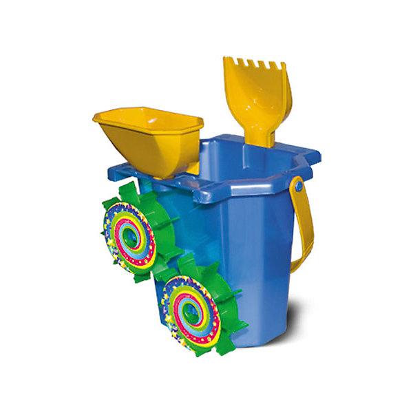 Набор для песка №93, НордпластИграем в песочнице<br>Набор для песка №93, Нордпласт - это радость и забава для летних развлечений вашего малыша.<br>Увлекательный набор N93 для игры в песочнице произведен компанией Нордпласт. В этот набор включена оригинальная игрушка «Ведро-мельница». Круговорот песка в мельнице - это простое и одновременно завораживающее зрелище. Малыш будет с удовольствием снова и снова наполнять мельницу песком и смотреть на то, как вращаются ее жернова. Эта забава не только увлечет детей в песочнице или на пляже, но и поможет развивать мелкую моторику. Также в комплект включены лопатка с зубьями и воронка. Набор для песка от компании Нордпласт сделан из качественной прочной пластмассы, поэтому не выцветает на солнце и не трескается.<br><br>Дополнительная информация:<br><br>- В наборе: ведро-мельница, воронка, лопатка с зубчиками<br>- Высота ведра-мельницы: 16,5 см.<br>- Длина лопатки: 19 см.<br>- Материал: пластмасса<br>- Размер упаковки: 24 х 17 х 17 см.<br>- Вес: 250 гр.<br><br>Набор для песка №93, Нордпласт можно купить в нашем интернет-магазине.<br>Ширина мм: 240; Глубина мм: 170; Высота мм: 170; Вес г: 250; Возраст от месяцев: 24; Возраст до месяцев: 60; Пол: Унисекс; Возраст: Детский; SKU: 4060305;