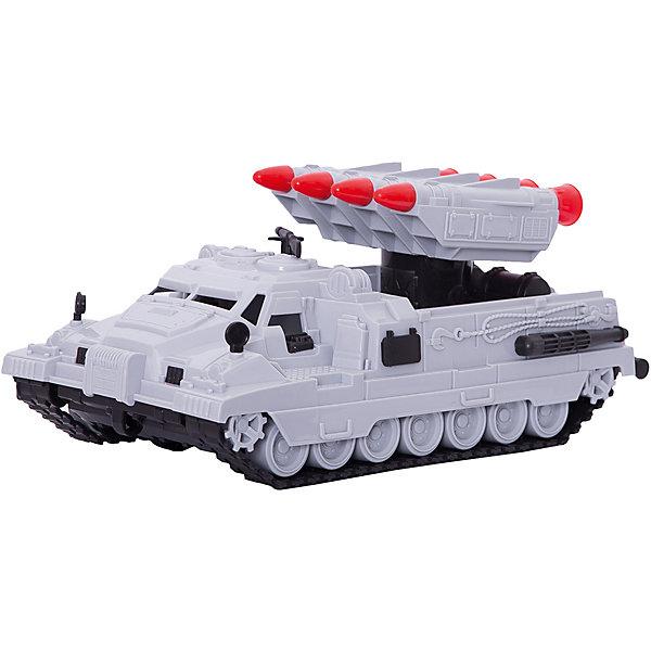 Ракетная установка Морпех, НордпластВоенный транспорт<br>Ракетная установка Морпех, Нордпласт – эта игрушка из военной серии отличный подарок для любого мальчугана!<br>Ракетная установка Морпех от компании «Нордпласт» выглядит совсем как настоящая. Игрушка отличается особым вниманием к деталям – каждая мелочь, отлита с особой тщательностью. Машина имеет 4 ракеты (ракеты не запускаются), которые собраны в единый блок, вращающийся вокруг оси, поднимающийся вверх и опускающийся вниз. Скрытые колеса с гусеницей смогут преодолеть любое бездорожье! Машина отлично подойдет для игры дома или в песочнице. Игрушка изготовлена из высококачественной пищевой пластмассы, без трещин и заусениц, поэтому во время эксплуатации выдержит многие детские шалости. Она покрыта нетоксичной краской, не облупливающейся и не выгорающей на солнце.<br><br>Дополнительная информация:<br><br>- Материал: высококачественная пластмасса<br>- Цвет: серый<br>- Размер игрушки: 31х16х13 см.<br>- Вес: 460 гр.<br><br>Ракетную установку Морпех, Нордпласт можно купить в нашем интернет-магазине.<br>Ширина мм: 310; Глубина мм: 160; Высота мм: 130; Вес г: 460; Возраст от месяцев: 24; Возраст до месяцев: 60; Пол: Мужской; Возраст: Детский; SKU: 4060318;