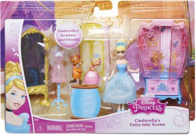 Mattel Кукла Золушка С Аксессуарами, Принцессы Дисней