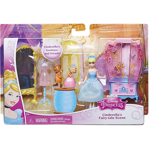 Кукла Золушка с аксессуарами, Принцессы ДиснейПринцессы Дисней<br>Кукла Золушка с аксессуарами, Disney Princess – это отличный подарок для вашей девочки!<br>Набор с мини-куклой придется по вкусу маленьким принцессам. В комплекте любимая героиня, набор мебели и ее верные друзья. Кукла в точности повторяет внешность героини мультфильма Золушка. У куклы двигаются руки, ноги, голова.<br><br>Дополнительная информация:<br><br>- В наборе: мини-кукла Золушка, 2 фигурки мышат, аксессуары для игры<br>- Материал: высококачественный пластик<br>- Высота куклы: 9 см.<br>- Размер упаковки: 250x50x170 мм.<br>- Вес: 300 гр.<br><br>Куклу Золушка с аксессуарами, Disney Princess можно купить в нашем интернет-магазине.<br><br>Ширина мм: 250<br>Глубина мм: 50<br>Высота мм: 170<br>Вес г: 300<br>Возраст от месяцев: 36<br>Возраст до месяцев: 108<br>Пол: Женский<br>Возраст: Детский<br>SKU: 4060353
