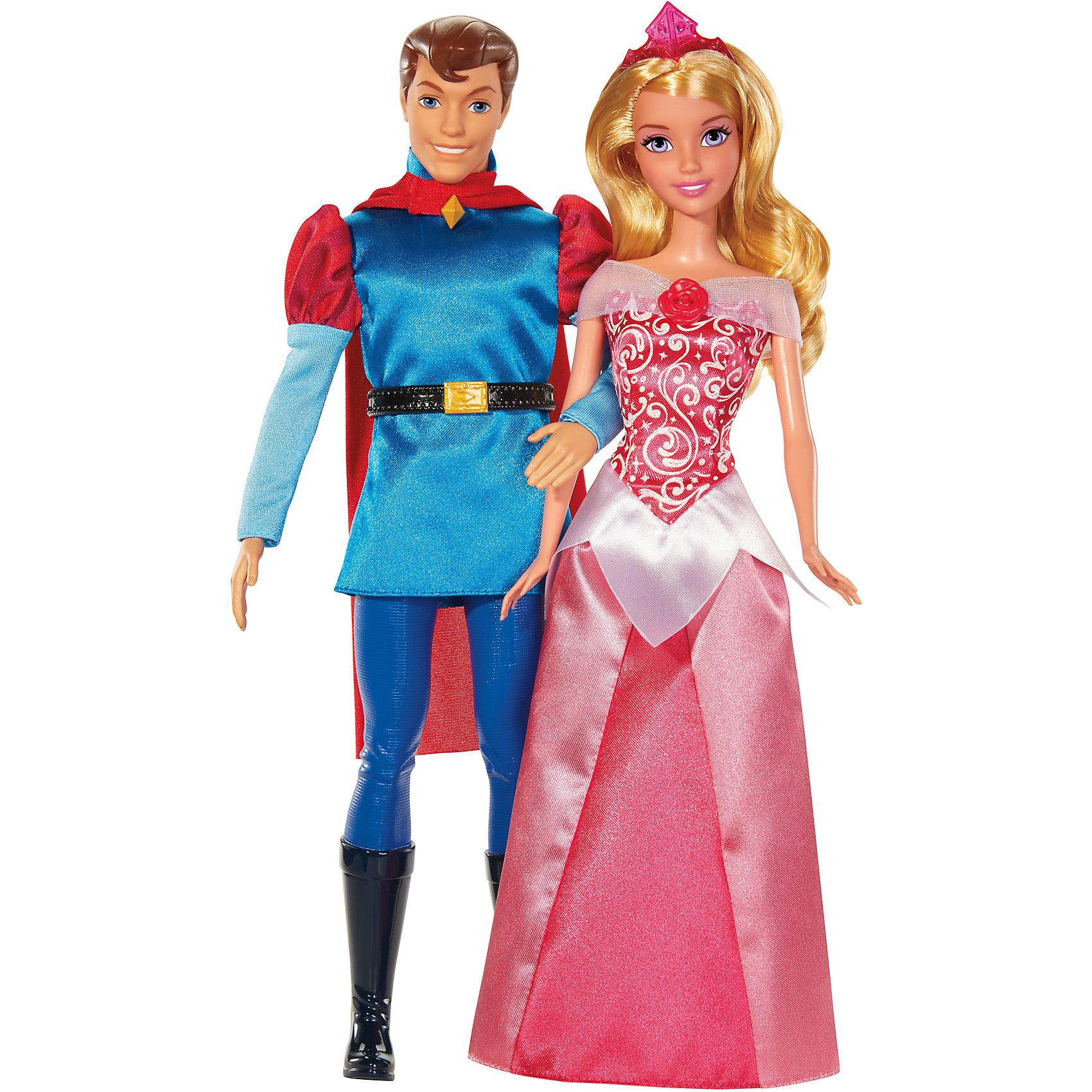 Куклы Спящая Красавица и Принц Филипп, Принцессы ДиснейКукла Спящая красавица и принц Филипп, Disney Princess – это отличный подарок для вашей девочки!<br>Замечательный игровой набор Disney Princess состоит сразу из двух кукол — Спящей Красавицы, также известной как Принцесса Аврора, и ее возлюбленного принца Филиппа. На эту красивую пару так и хочется любоваться, не отводя глаз! У Авроры сияющие желтые волосы, на которые надета розовая диадема. На ней розовое атласное платье с изящными деталями. Принц одет в сине-голубую средневековую одежду, а за его плечами развевается красный плащ. У Филиппа волосы уложены в модную прическу, которую нельзя изменить (волосы литые, вместе с головой). Куклы очень хорошо детализированы. На их лицах — милые улыбки, глаза сияют прорисованными бликами света. С набором из двух кукол ваша малышка сможет проигрывать любимый сюжет сказки «Спящая Красавица», устраивать кукольные балы и всячески развивать свою фантазию.<br><br>Дополнительная информация:<br><br>- В наборе: 2 куклы (принцесса и принц)<br>- Высота куклы: 30 см.<br>- Материал: высококачественный пластик<br>- Размер упаковки: 120x60x320 мм.<br>- Вес: 530 гр.<br><br>Куклу Спящая красавица и принца Филиппа, Disney Princess можно купить в нашем интернет-магазине.<br><br>Ширина мм: 120<br>Глубина мм: 60<br>Высота мм: 320<br>Вес г: 530<br>Возраст от месяцев: 36<br>Возраст до месяцев: 108<br>Пол: Женский<br>Возраст: Детский<br>SKU: 4061251