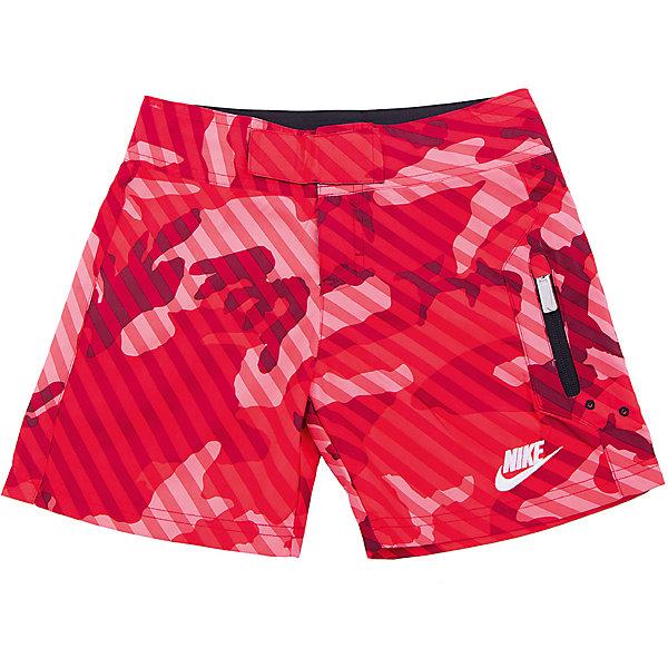 Купить Плавательные шорты для мальчика HBR SWIM SHORT LK NIKE, Вьетнам, красный, 116/122, 110/116, 96/104, 104/110, 122/128, Мужской