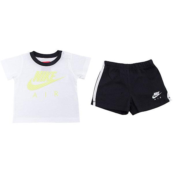 Комплект для мальчика: футболка и шорты HBR MIXED SET INF NIKEКомплекты<br>Комплект для мальчика: футболка и шорты HBR MIXED SET INF NIKE Состав: 100% хлопок<br>Ширина мм: 199; Глубина мм: 10; Высота мм: 161; Вес г: 151; Цвет: белый; Возраст от месяцев: 3; Возраст до месяцев: 6; Пол: Мужской; Возраст: Детский; Размер: 68/74,86/92,74/80,80/86,92/98,74; SKU: 4067374;