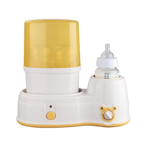 Подогреватель детского питания с функцие стерилизации BWS-15 SelbyПодогреватели детского питания<br>Подогреватель осуществляет быстрый и равномерный нагрев молока, смеси и детского питания. Имеет регулировку температуры нагрева, ее автоматическое поддержание и систему термостатического контроля, исключающую перегрев пищи. Может использоваться как подогреватель или стерилизатор. Преобразует воду в пар, который убивает болезнетворные микробы, бактерии и вирусы, обеспечивая безопасную дезинфекцию. Подходит для бутылочек всех типов, сосок, пустышек и других принадлежностей для кормления, имеет функцию автоматического отключения.<br><br>Дополнительная информация:<br><br>- Материал: пластик. <br>- Размер: 32,5 х 18,5 х 13,5 см.<br>- Вес: 1,52 кг.<br>- Температура нагрева 40°C.<br>- Регулировка температуры нагрева.<br>- Автоматическое поддержание температуры.<br>- Система термостатического контроля.<br>- Может использоваться как стерилизатор.<br>- Функция автоматического отключения.<br>- Работает от сети. <br><br>Подогреватель детского питания с функцией стерилизации BWS-15 Selby, можно купить в нашем магазине.<br><br>Ширина мм: 325<br>Глубина мм: 185<br>Высота мм: 135<br>Вес г: 1600<br>Возраст от месяцев: 0<br>Возраст до месяцев: 36<br>Пол: Унисекс<br>Возраст: Детский<br>SKU: 4067733