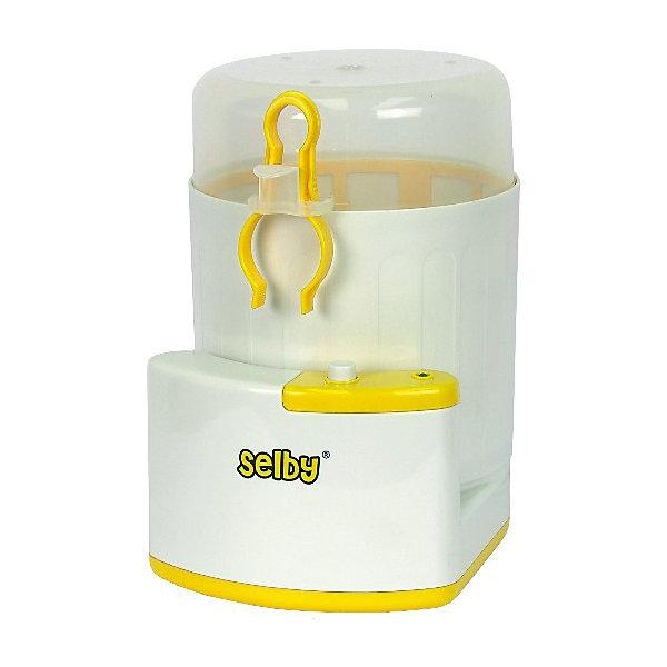 Стерилизатор детских бутылочек BS-03 SelbyCтерилизаторы<br>Стерилизатор преобразует воду в пар, который убивает болезнетворные микробы, бактерии и вирусы, обеспечивая безопасную дезинфекцию. Подходит для бутылочек всех типов, сосок, пустышек и других принадлежностей. Может использоваться в качестве емкости для перевозки стерильных бутылочек и сосок. <br><br>Дополнительная информация:<br><br>- Материал: пластик.<br>- Размер: 15,5 х 24 х 19 см.<br>- Вес: 0,53 гр.<br>- Одновременная стерилизация 3 бутылочек.<br>- Функция автоматического отключения.<br>- Защита от перегрева.<br>- Нагревательный элемент из нержавеющей стали.<br>- Работает от сети. <br><br>Стерилизатор детских бутылочек BS-03 Selby можно купить в нашем магазине.<br><br>Ширина мм: 155<br>Глубина мм: 240<br>Высота мм: 190<br>Вес г: 1100<br>Возраст от месяцев: 0<br>Возраст до месяцев: 36<br>Пол: Унисекс<br>Возраст: Детский<br>SKU: 4067748