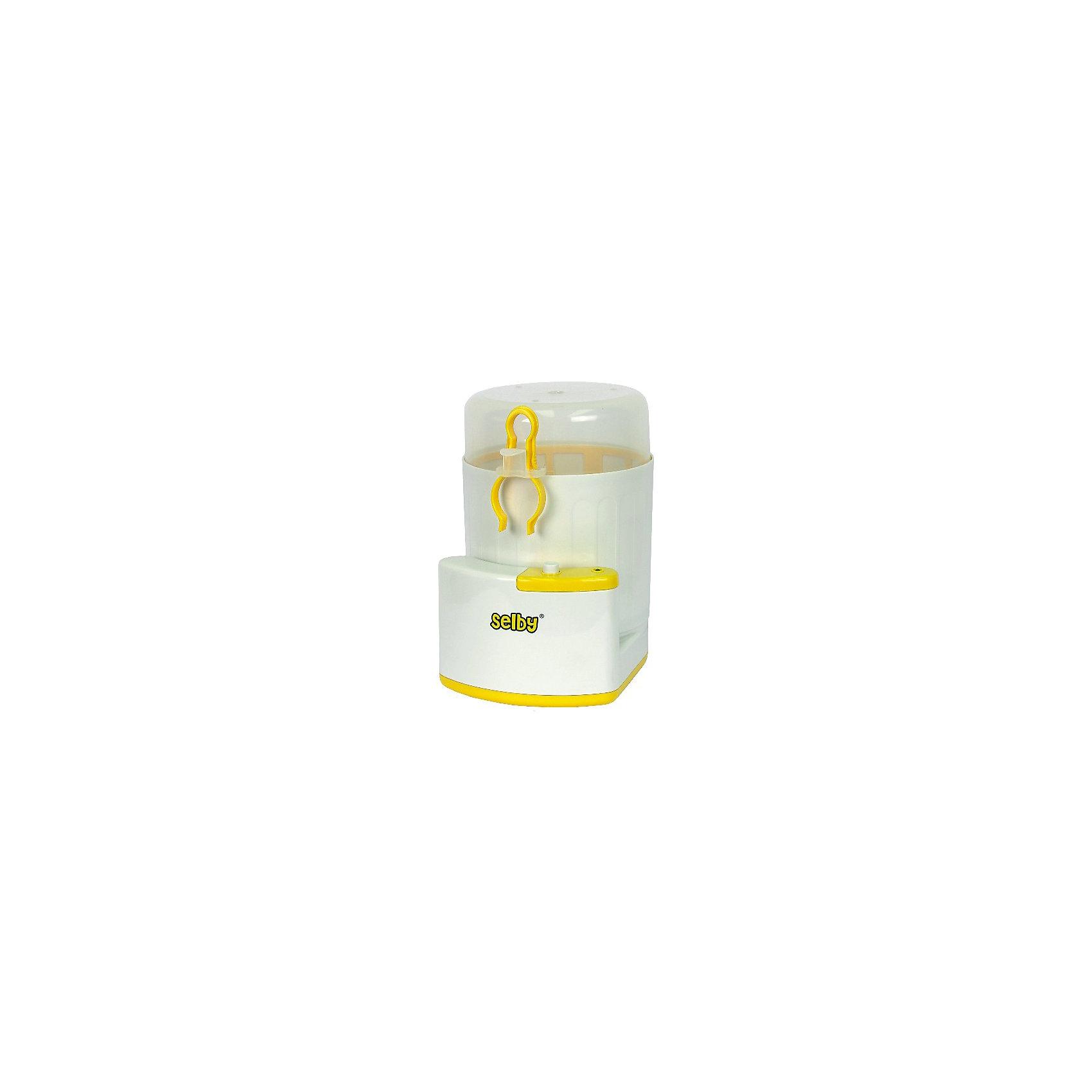 Стерилизатор детских бутылочек BS-03 SelbyДетская бытовая техника<br>Стерилизатор преобразует воду в пар, который убивает болезнетворные микробы, бактерии и вирусы, обеспечивая безопасную дезинфекцию. Подходит для бутылочек всех типов, сосок, пустышек и других принадлежностей. Может использоваться в качестве емкости для перевозки стерильных бутылочек и сосок. <br><br>Дополнительная информация:<br><br>- Материал: пластик.<br>- Размер: 15,5 х 24 х 19 см.<br>- Вес: 0,53 гр.<br>- Одновременная стерилизация 3 бутылочек.<br>- Функция автоматического отключения.<br>- Защита от перегрева.<br>- Нагревательный элемент из нержавеющей стали.<br>- Работает от сети. <br><br>Стерилизатор детских бутылочек BS-03 Selby можно купить в нашем магазине.<br><br>Ширина мм: 155<br>Глубина мм: 240<br>Высота мм: 190<br>Вес г: 1100<br>Возраст от месяцев: 0<br>Возраст до месяцев: 36<br>Пол: Унисекс<br>Возраст: Детский<br>SKU: 4067748