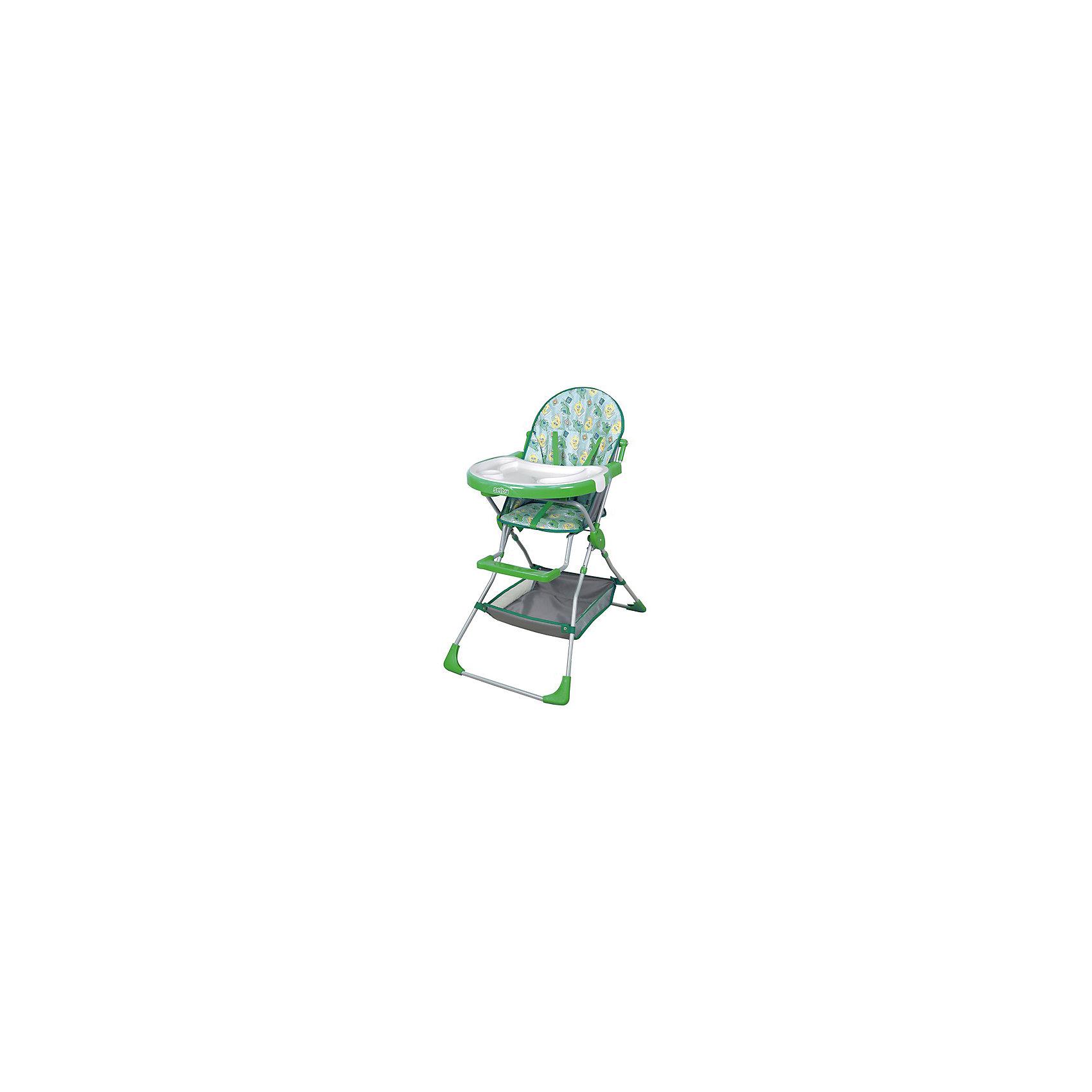 Стульчик для кормления 252 Selby, зеленыйСтульчики для кормления<br>Удобный стульчик для кормления оснащен трехточечными  ремнями безопасности и подставкой для ног. Имеет большой удобный столик, съемный поднос с углублением для посуды и корзинку для принадлежностей. Легкая устойчивая конструкция и съемное моющееся сидение удобны в использовании и уходе.<br><br>Дополнительная информация:<br><br>- Материал: пластик, ПЭ, металл.<br>- Размер: 73,5 х 53 х 100,5 см.<br>- Вес: 5,10 кг.<br>- Цвет: зеленый.<br>- Пятиточечный ремень безопасности.<br>- Съемный поднос с углублением для посуды<br>- Подставка для ног.<br>- Съемное моющееся сидение.<br>- Корзинка для принадлежностей.<br><br>Стульчик для кормления 252 Selby, зеленый, можно купить в нашем магазине.<br><br>Ширина мм: 125<br>Глубина мм: 800<br>Высота мм: 500<br>Вес г: 6350<br>Возраст от месяцев: 6<br>Возраст до месяцев: 36<br>Пол: Унисекс<br>Возраст: Детский<br>SKU: 4067752