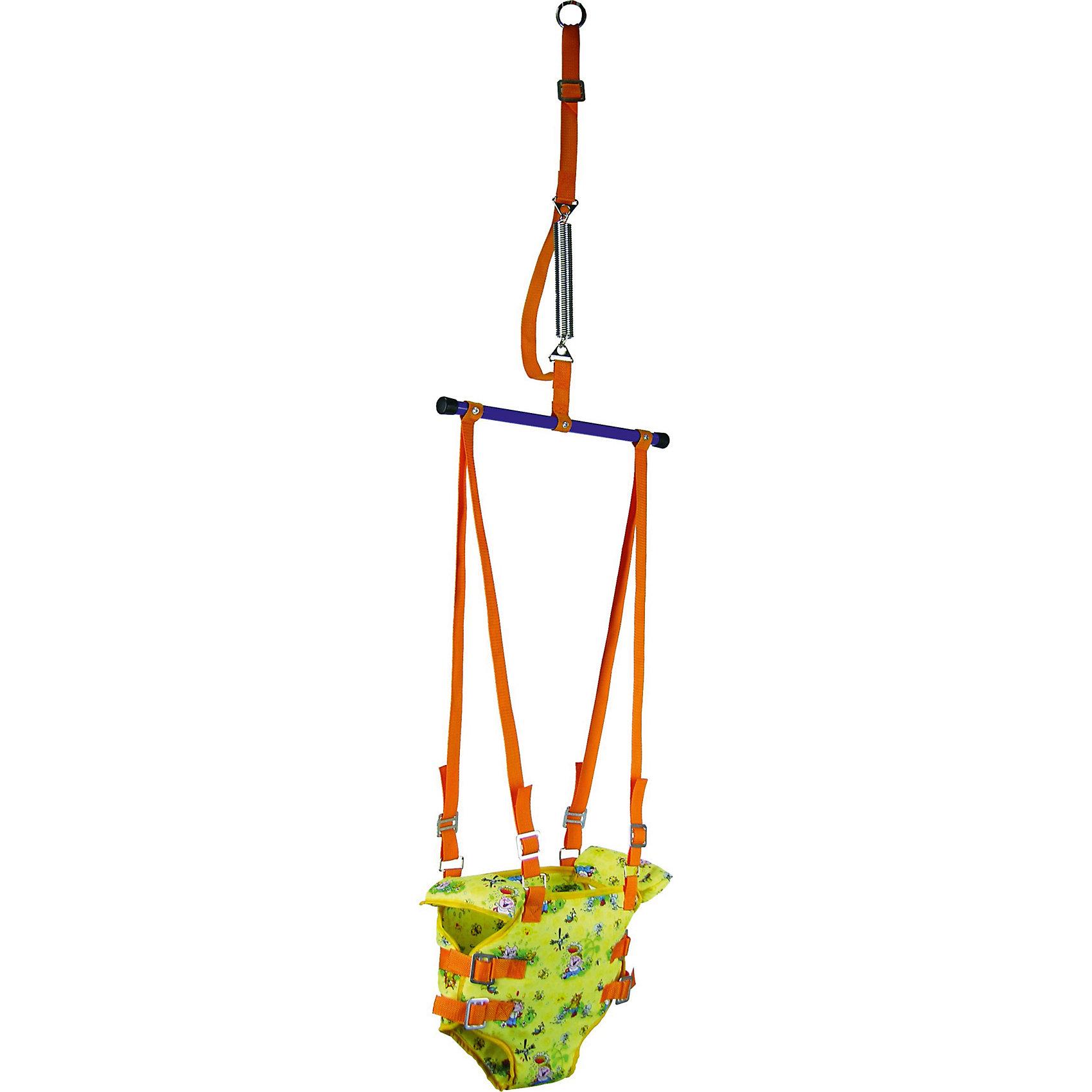 Прыгунки 2 в 1 ФеяПрыгунки<br>Прыгунки предназначены для малышей, которые уже умеют сидеть. Удобное сиденье-штанишки и подмышечные валики надежно фиксируют малыша внутри и обеспечивают удобство и комфорт. Стальная сверхпрочная пружина, снабжена предохранительным ремнем, ограничивающим размах колебаний и увеличивающим безопасность. Прыгунки легко трансформируются в турник. Подвешиваются с помощью усиленного металлического кольца.<br><br>Дополнительная информация:<br><br>- Материал: металл, ПЭ, текстиль.<br>- Размер: 160х25х5 см.<br>- Вес: 0,64кг.<br>- Сиденье-штанишки.<br>- Подмышечные валики.<br>- Подставка для ног.<br>- Крепление: металлическое кольцо.<br>- Трансформируется в турник.<br>- Возраст: от 6 месяцев до 9 лет.<br> <br>Прыгунки 2 в 1 Фея, можно купить в нашем магазине.<br><br>Ширина мм: 1600<br>Глубина мм: 250<br>Высота мм: 500<br>Вес г: 840<br>Возраст от месяцев: 5<br>Возраст до месяцев: 11<br>Пол: Унисекс<br>Возраст: Детский<br>SKU: 4067755