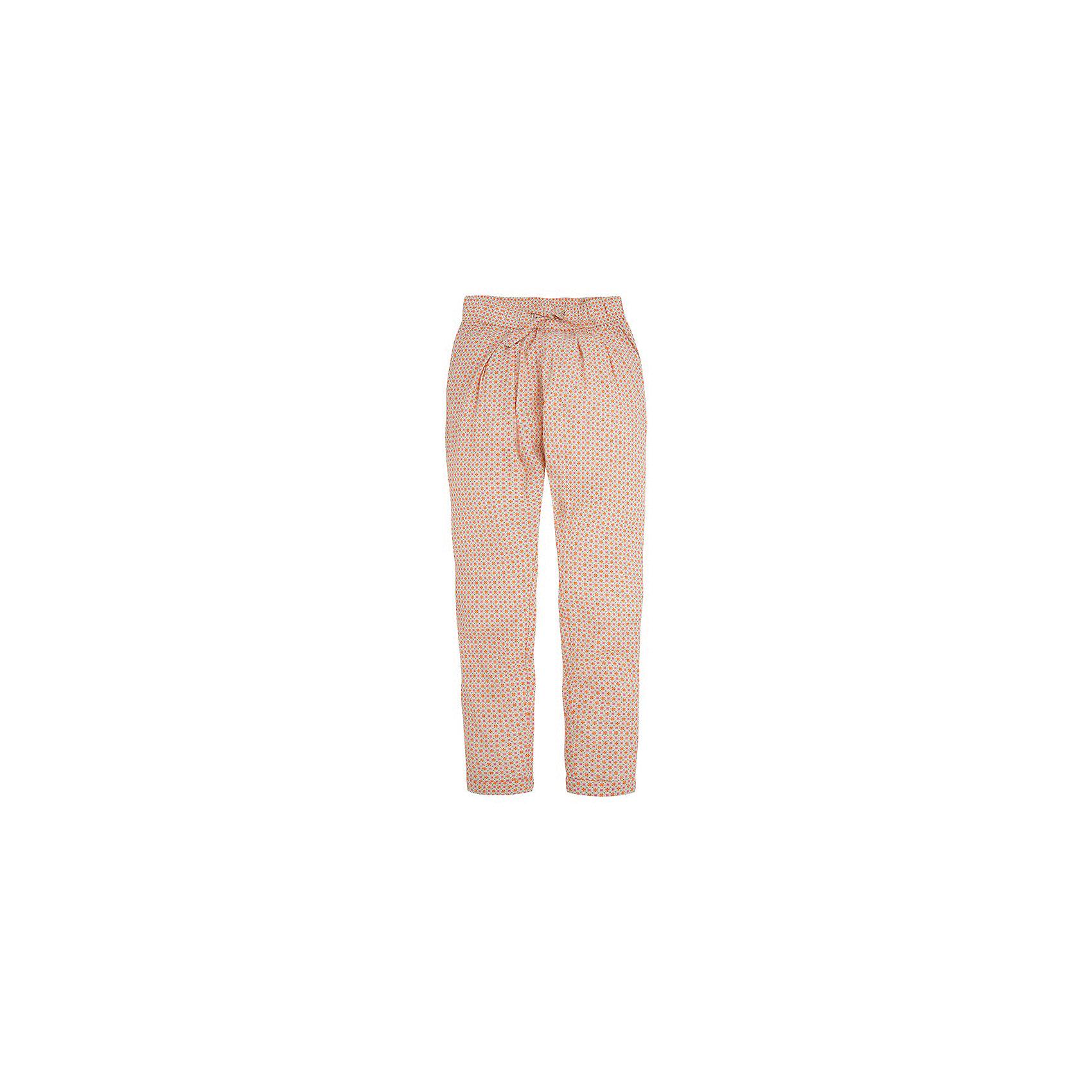 Брюки для девочки MayoralБрюки<br>Брюки для девочки от популярной испанской марки Mayoral.<br><br>Легкие брюки от известного испанского бренда Mayoral – отличный вариант летней одежды для ребенка. Удобный крой и качественный материал обеспечит ребенку комфорт при ношении этой вещи.<br><br>Данное изделие сшито из тонкой вискозы. Пояс - на резинке. Цвет - коралловый.<br><br>Состав: 100% вискоза<br>Уход за изделием:<br><br>стирка в машине при температуре до 30°С,<br>не отбеливать,<br>гладить на низкой температуре.<br> <br>Брюки для девочки Mayoral (Майорал) можно купить в нашем магазине.<br><br>Ширина мм: 215<br>Глубина мм: 88<br>Высота мм: 191<br>Вес г: 336<br>Цвет: оранжевый<br>Возраст от месяцев: 144<br>Возраст до месяцев: 156<br>Пол: Женский<br>Возраст: Детский<br>Размер: 158,140,164,152<br>SKU: 4068588