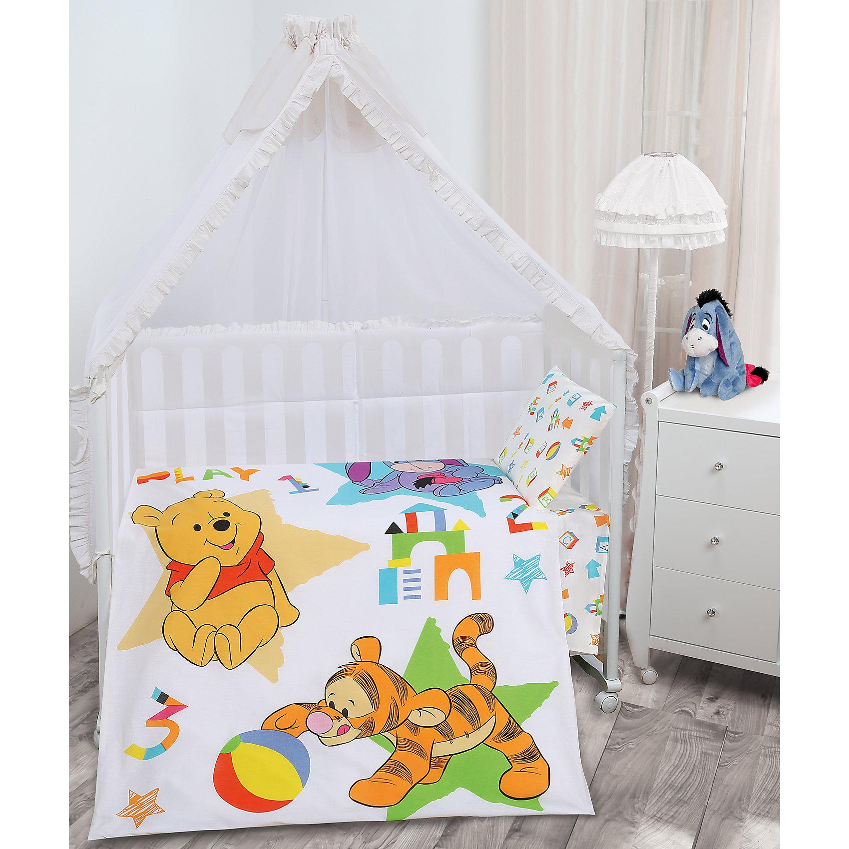 Постельное белье детское Игры (наволочка 40*60 см), Винни ПухДетский комплект Игры (наволочка 40*60 см), Винни Пух – это яркое постельное белье убаюкивает вашего ребенка и подарит ему сказочный сон.<br>С детским комплектом Игры, Винни Пух Ваш малыш с удовольствием будет укладываться в свою кроватку и видеть чудесные сказочные сны. Красочный комплект из качественной бязи украшен изображением мишки Винни, знаменитого персонажа диснеевского мультика о Винни-Пухе и его друзьях. Бязевое постельное белье состоит из 100% хлопка самого простого полотняного переплетения из достаточно толстых, но мягких нитей, приятное на ощупь и хорошо пропускает воздух. Устойчивые красители безопасны для здоровья ребенка. Белье хорошо переносит большое количество стирок.<br><br>Дополнительная информация:<br><br>- Размер комплекта: ясельный<br>- В комплекте: пододеяльник 110х145см., простынь 100х145см., наволочка 40х60см.<br>- Тип застежки: прорезь<br>- Материал: бязь<br>- Состав: 100% хлопок<br>- Размер упаковки: 20 х 5 х 25 см.<br>- Вес: 0,8 кг.<br><br>Детский комплект Игры (наволочка 40*60 см), Винни Пух можно купить в нашем интернет-магазине.<br><br>Ширина мм: 200<br>Глубина мм: 50<br>Высота мм: 250<br>Вес г: 800<br>Возраст от месяцев: 0<br>Возраст до месяцев: 36<br>Пол: Унисекс<br>Возраст: Детский<br>SKU: 4069018