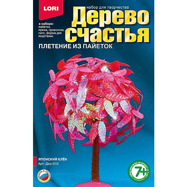 Дерево счастья Японский клён, LORIНаборы для создания украшений<br>Если Ваша девочка любит рукоделие, то набор для плетения Дерево счастья Японский клён от LORI (ЛОРИ) - это то, что Вы искали. Дерево счастья очень оригинальный набор, с помощью которого девочка сможет создать невероятной красоты сувенир своими руками. Веточки дерева выполняются из проволоки и украшаются пайетками и бисером. Ствол и подставку тоже можно создать из деталей набора. Кропотливая работа будет вознаграждена, ведь результат превзойдет все ожидания! Сверкающий и переливающийся японский клен принесет любовь и гармонию в дом, где будет стоять! По окончании работы, прекрасное деревце можно подарить друзьям или украсить им интерьер! Занятие с замечательным набором Дерево счастья Японский клён от LORI (ЛОРИ) будет способствовать развитию мышления, воображения ребенка и формировать эстетическое восприятие. <br><br>Дополнительная информация:<br><br>- Способствует развитию мышления, воображения и эстетического восприятия;<br>- В комплекте: бисер, акриловые бусины, пайетки, пряжа коричневая, проволока, гипс, полистирольная форма для заливки гипса, подробная инструкция;<br>- Оригинальный набор;<br>- Прекрасный подарок;<br>- Размер упаковки: 20,8 х 13,5 х 4 см;<br>- Вес: 303 г<br><br>Дерево счастья Японский клён, LORI (ЛОРИ) можно купить в нашем интернет-магазине.<br><br>Ширина мм: 208<br>Глубина мм: 135<br>Высота мм: 40<br>Вес г: 303<br>Возраст от месяцев: 84<br>Возраст до месяцев: 144<br>Пол: Женский<br>Возраст: Детский<br>SKU: 4073054
