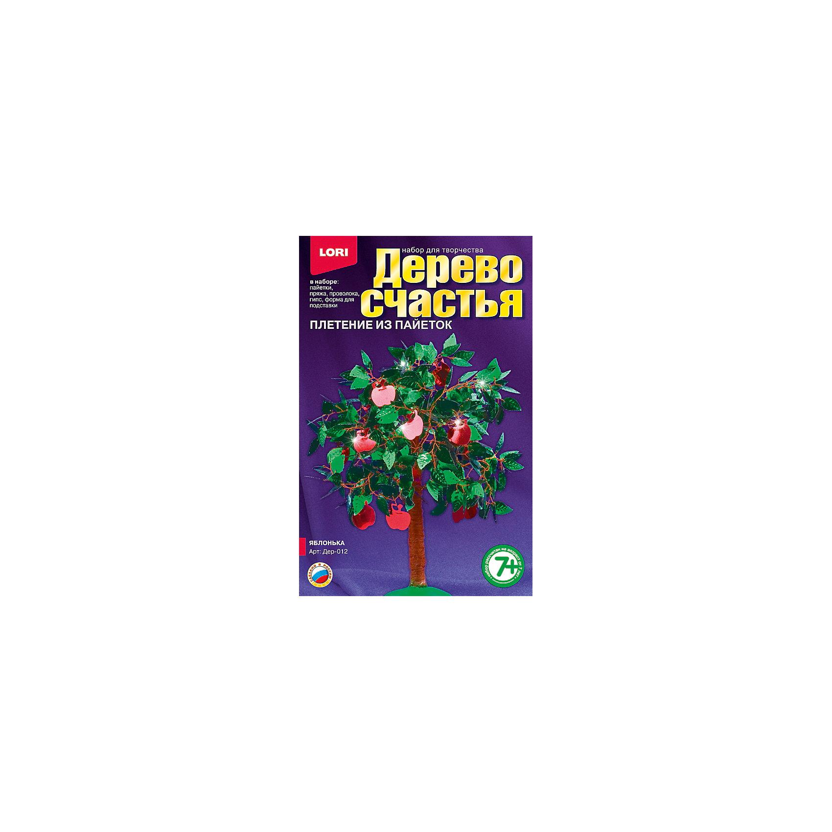 LORI Дерево счастья Яблонька, LORI lori набор для рукоделия дерево счастья сакура
