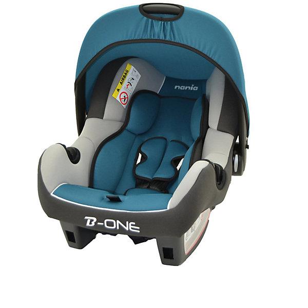 Автокресло Nania Beone SP LUX 0-13 кг, agora petroleГруппа 0+  (до 13 кг)<br>Характеристики автолюльки Nania Beone SP LUX:<br><br>• группа 0+;<br>• вес ребенка: до 13 кг;<br>• возраст ребенка: от рождения до 12 месяцев;<br>• способ установки: против хода движения автомобиля;<br>• способ крепления: штатными ремнями безопасности автомобиля;<br>• солнцезащитный тент, положение регулируется, тент можно снять совсем;<br>• анатомический вкладыш для новорожденного;<br>• 3-х точечные ремни безопасности с мягкими накладками;<br>• ручка для переноски автолюльки;<br>• возможность использовать автолюльку как кресло-качалку, при необходимости можно зафиксировать люльку, переместив ручку назад до упора;<br>• эргономичная чаша автокресла;<br>• дополнительная защита от боковых ударов, система SP (side protection);<br>• съемные чехлы, стирка при температуре 30 градусов;<br>• материал: пластик, полиэстер, полипропилен;<br>• стандарт безопасности: ЕСЕ R44/04.<br><br>Размер автокресла: 70х47х40 см<br>Вес автокресла: 3,2 кг<br><br>Автолюлька для новорожденных устанавливается на заднем сиденье автомобиля лицом против хода движения автомобиля. Специальная жесткая ручка позволяет использовать автолюльку в качестве переноски, чтобы не потревожить спящего малыша. Глубокая чаша и капор обеспечивают комфортное положение ребенка в автокресле с защитой от солнечных лучей. <br><br>Автокресло Beone SP LUX, 0-13 кг., Nania, agora petrole можно купить в нашем интернет-магазине.<br>Ширина мм: 400; Глубина мм: 390; Высота мм: 720; Вес г: 7690; Возраст от месяцев: 0; Возраст до месяцев: 15; Пол: Унисекс; Возраст: Детский; SKU: 4074770;