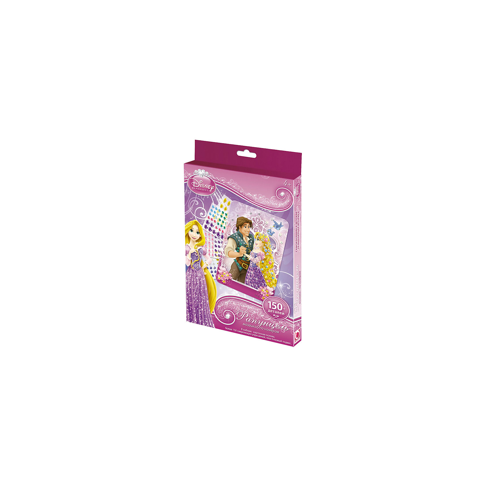 Origami Самоклеющаяся мозаика Рапунцель, Принцессы Дисней winx club кукла мисс винкс stella