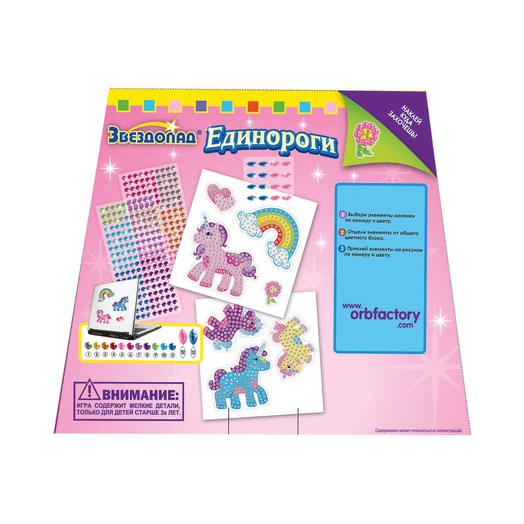 Мозаика-наклейки Единороги 7шт, ОригамиМозаика-наклейки Единороги, 7шт., Оригами – увлекательный набор, который поможет ребенку без особого труда создать великолепные наклейки.<br>Мозаика-наклейки Единороги отличается высоким качеством исполнения и красочным цветовым дизайном. Процесс создания мозаики несложен и под силу даже ребенку: нужно выбрать самоклеящиеся элементы мозаики по номеру и цвету, затем отделить их от общего блока и наклеить на подходящее по номеру и цвету место на рисунке. Готовыми наклейками можно украсить чехол мобильного телефона, крышку ноутбука, оформить обложку дневника или тетради. Набор упакован в картонную сумочку на липучке с текстильной ручкой. Данный набор прекрасно развивает моторику рук и пространственное мышление, а также воображение и внимательность.<br><br>Дополнительная информация:<br><br>- В наборе: 7 наклеек различного размера и формы, более 550 самоклеящихся украшений<br>- Размер упаковки: 229х25х191 мм.<br>- Вес упаковки: 240 гр.<br><br>Мозаику-наклейки Единороги, 7шт., Оригами можно купить в нашем интернет-магазине.<br><br>Ширина мм: 229<br>Глубина мм: 25<br>Высота мм: 191<br>Вес г: 240<br>Возраст от месяцев: 48<br>Возраст до месяцев: 96<br>Пол: Женский<br>Возраст: Детский<br>SKU: 4075992