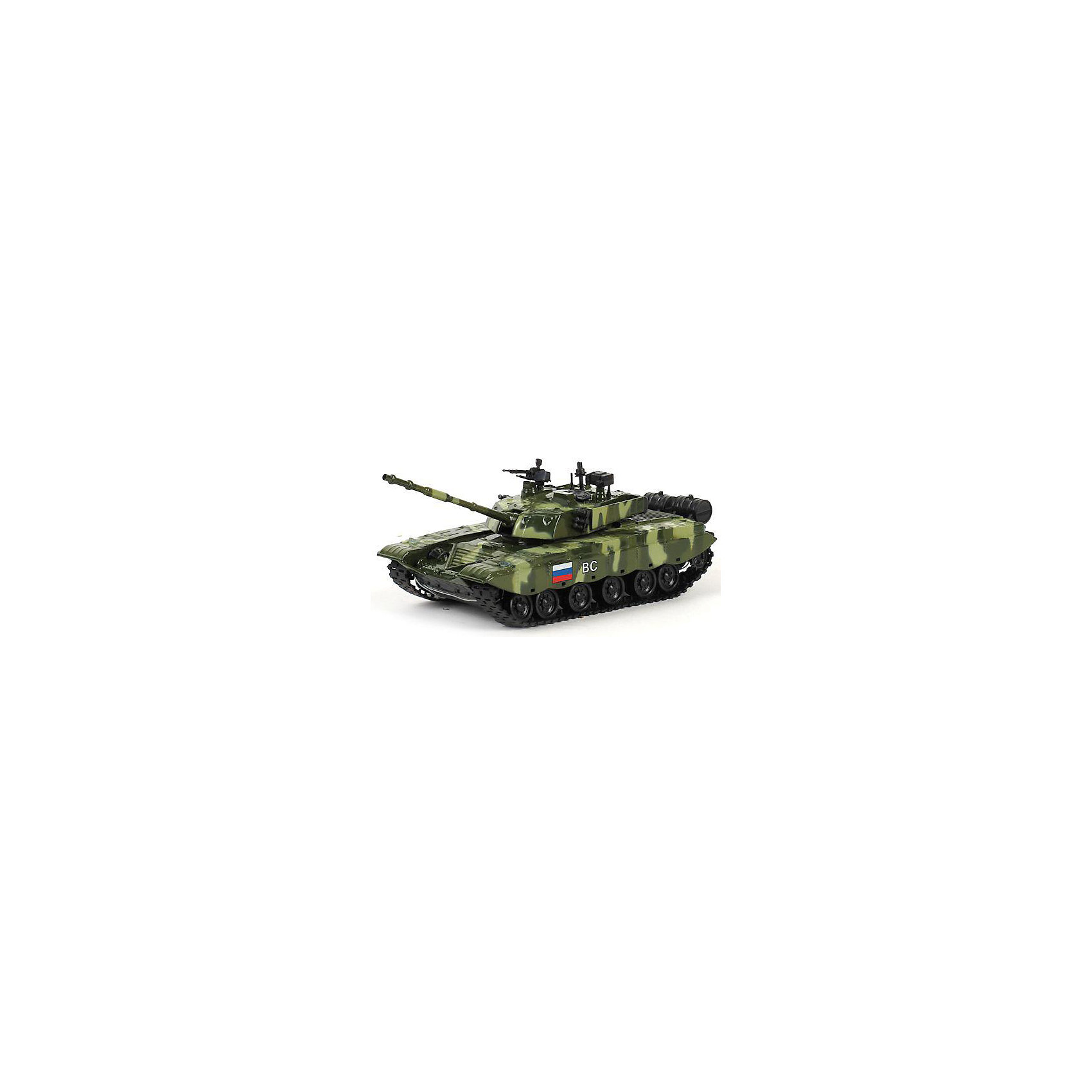 Танк T-90, со светом и звуком, в ассортименте, ТЕХНОПАРК